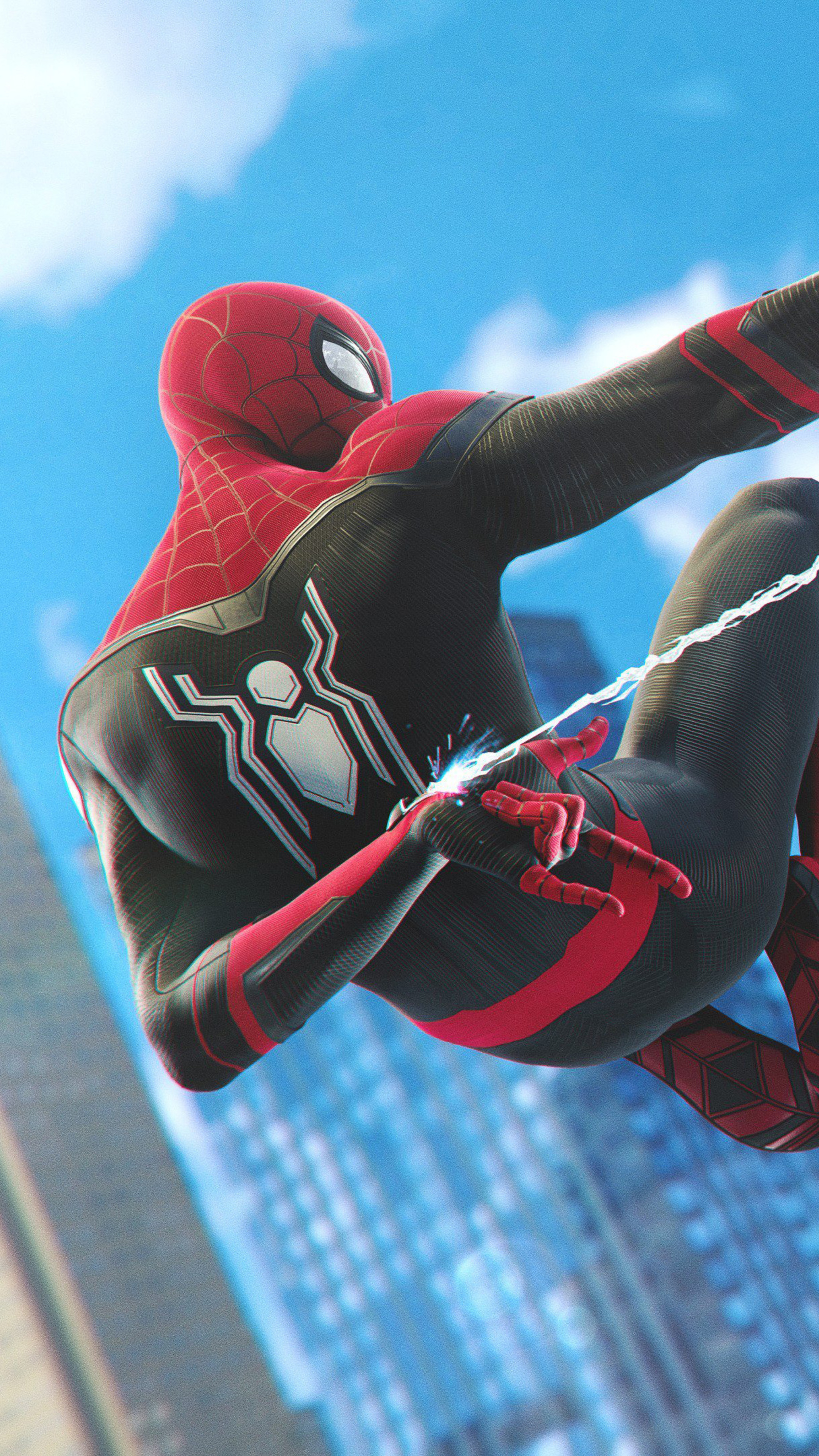 2160x3840 Spiderman Ps4 Far From Home Upgraded Stealth ...