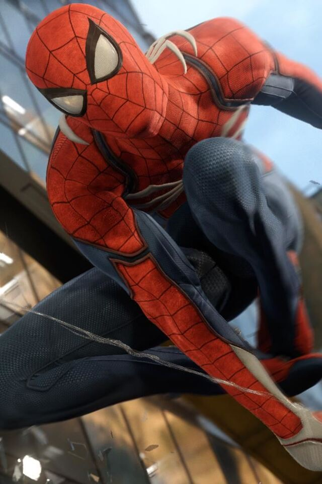 640x960 spiderman ps4 iphone 4 iphone 4s hd 4k wallpapers