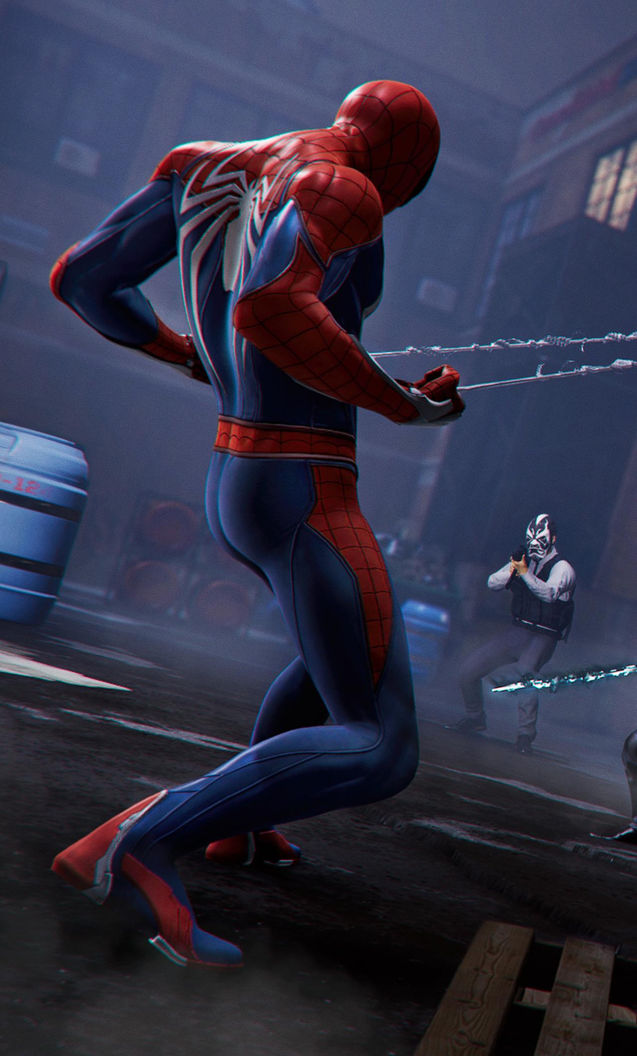 Iphone 4k Resolution Spiderman Ps4 Wallpaper