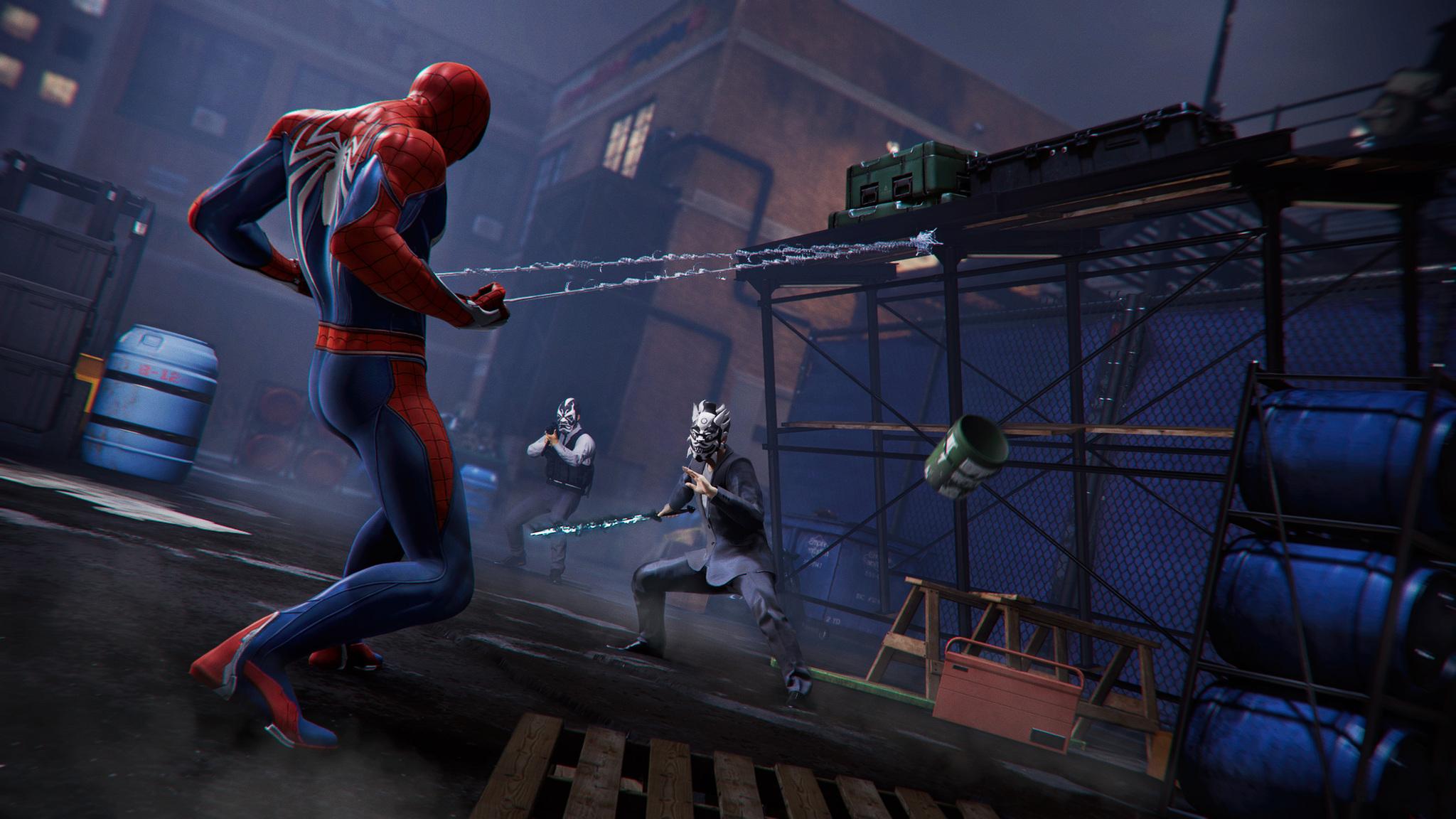2048x1152 Spiderman Ps4 Pro Gaming 4k 2048x1152 Resolution