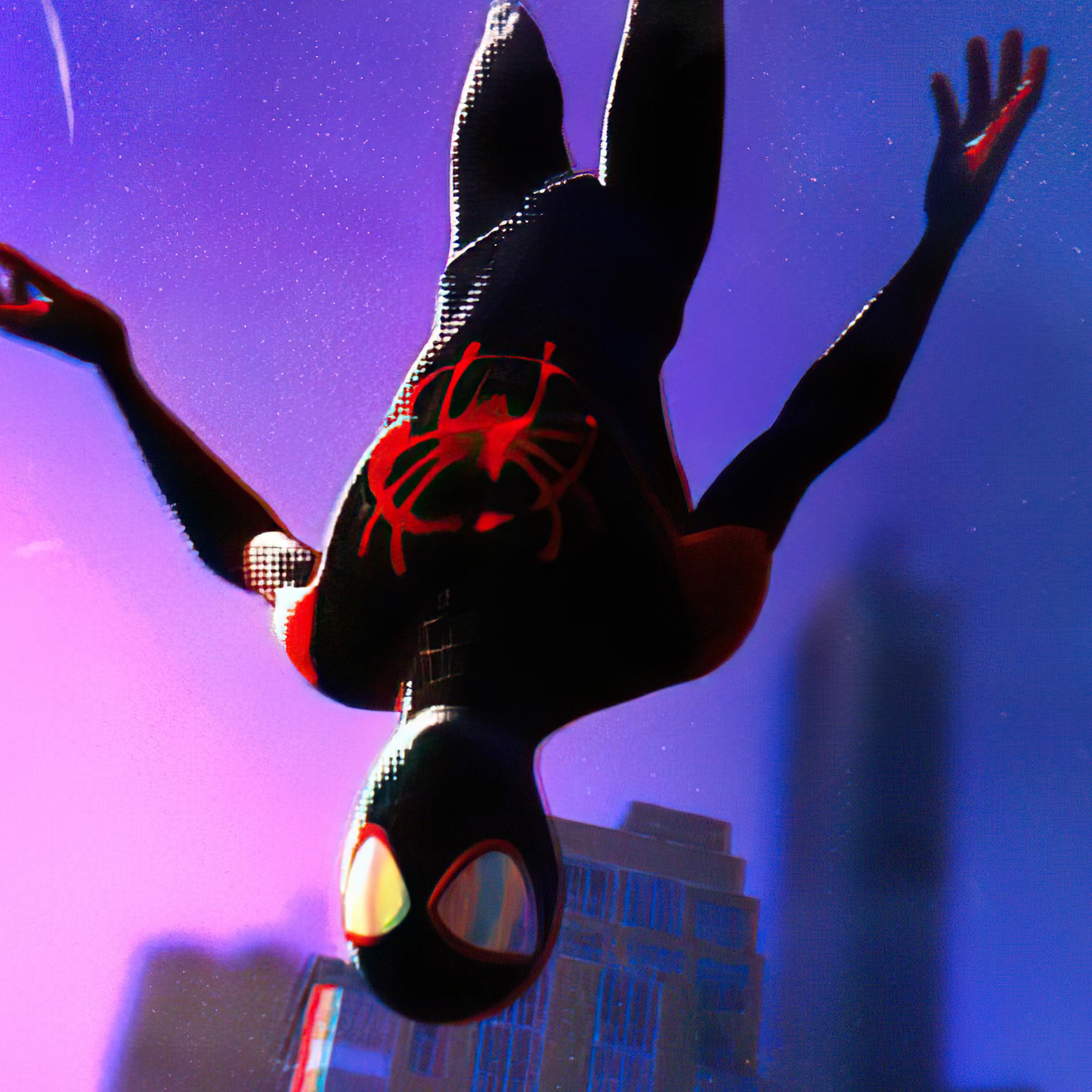 2932x2932 Spiderman Ps5 Miles Morales 4k 2021 Ipad Pro ...