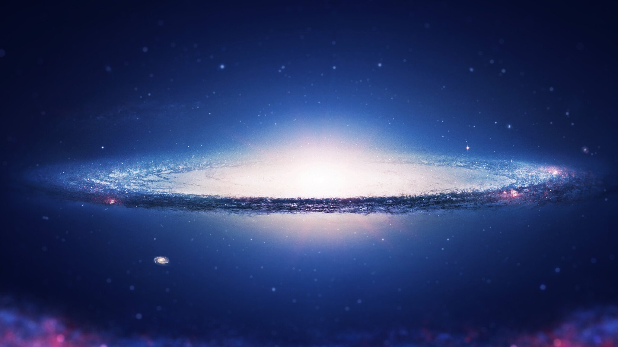2048x1152 Spiral Galaxy 2048x1152 Resolution HD 4k