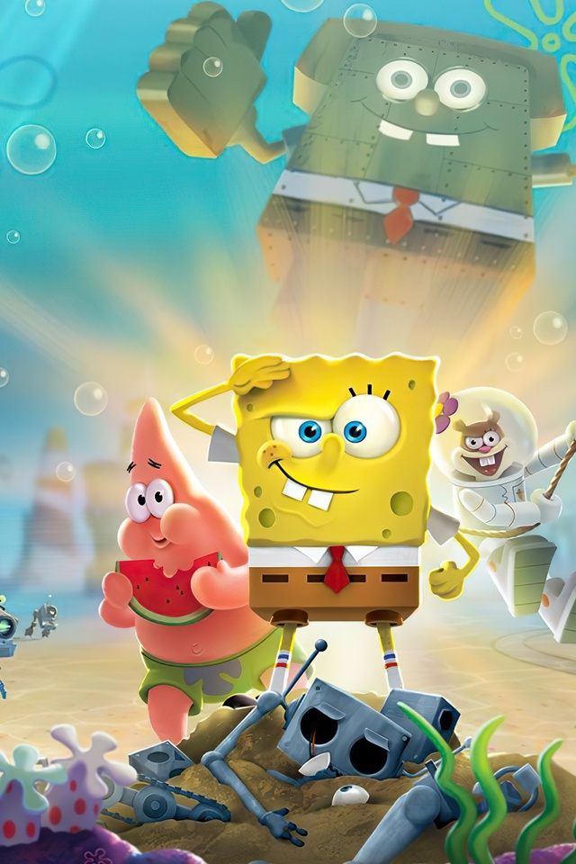 640x960 Spongebob Squarepants Battle For Bikini Bottom Rehydrated Iphone 4 Iphone 4s Hd 4k Wallpapers Images Backgrounds Photos And Pictures