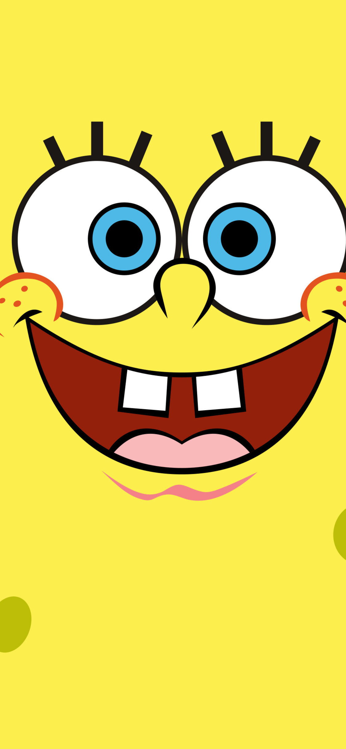 1125x2436 Spongebob Squarepants Minimalist 4k Iphone Xs Iphone 10 Iphone X Hd 4k Wallpapers Images Backgrounds Photos And Pictures