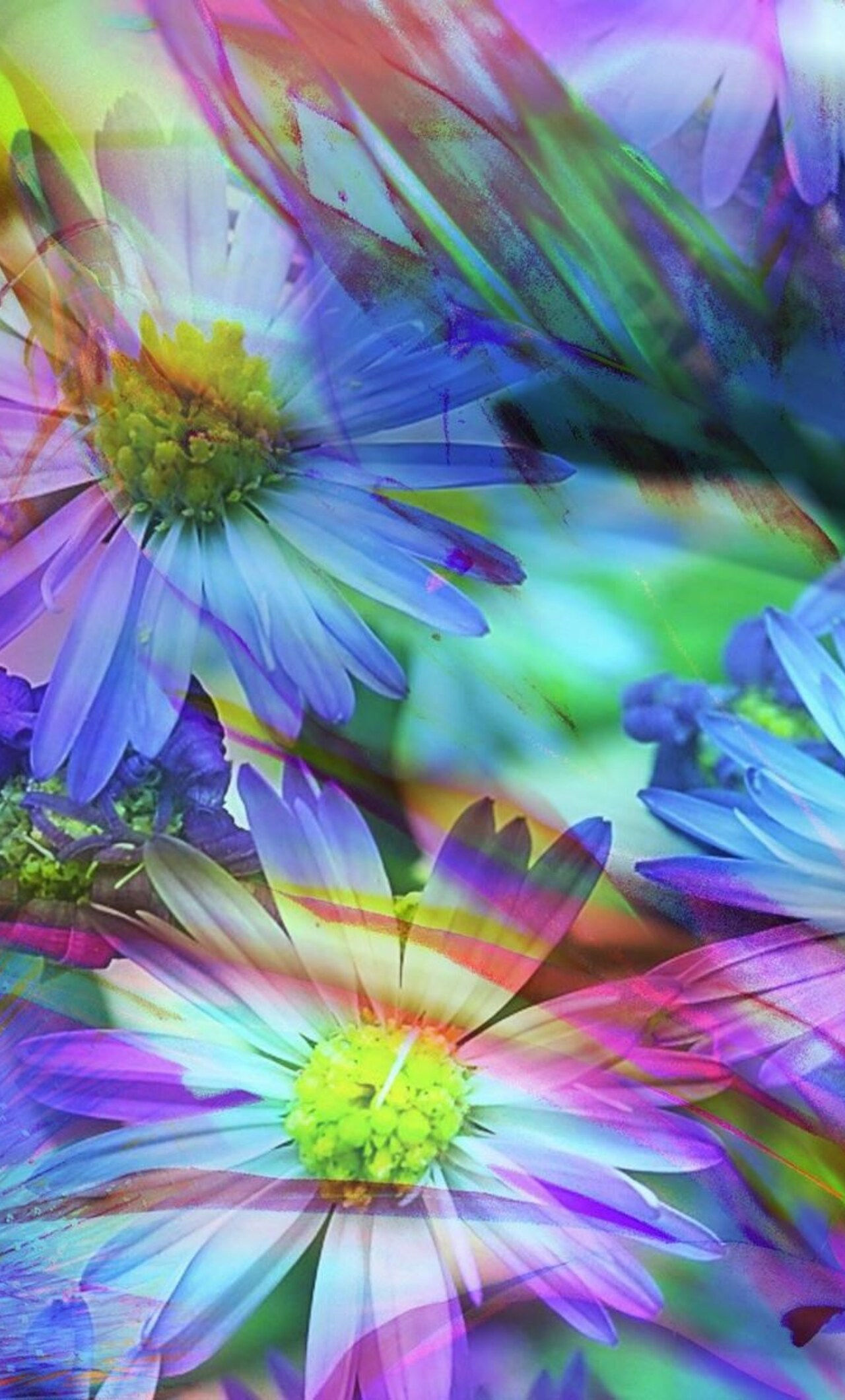 Spring Flowers Abstract Pic