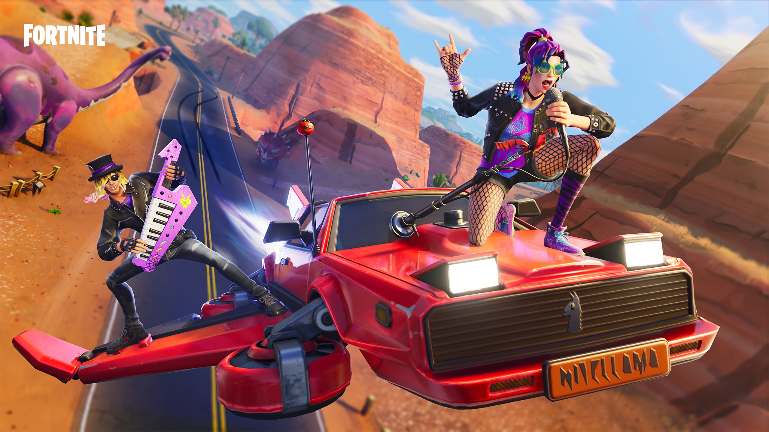 2560x1440 Stage Slayer And Synth Star Fortnite Battle Royale