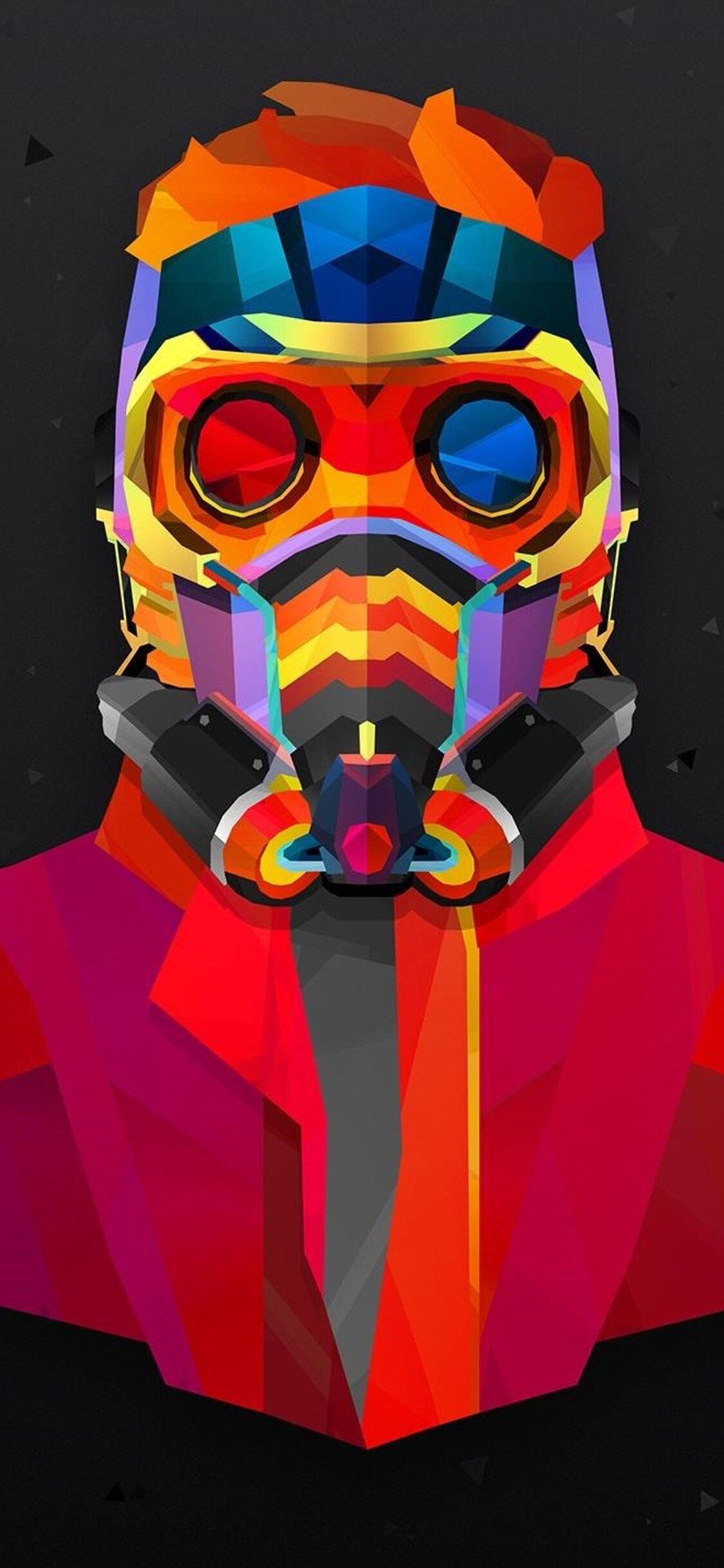 1125x2436 Star Lord Colorful Abstract Iphone Xs Iphone 10