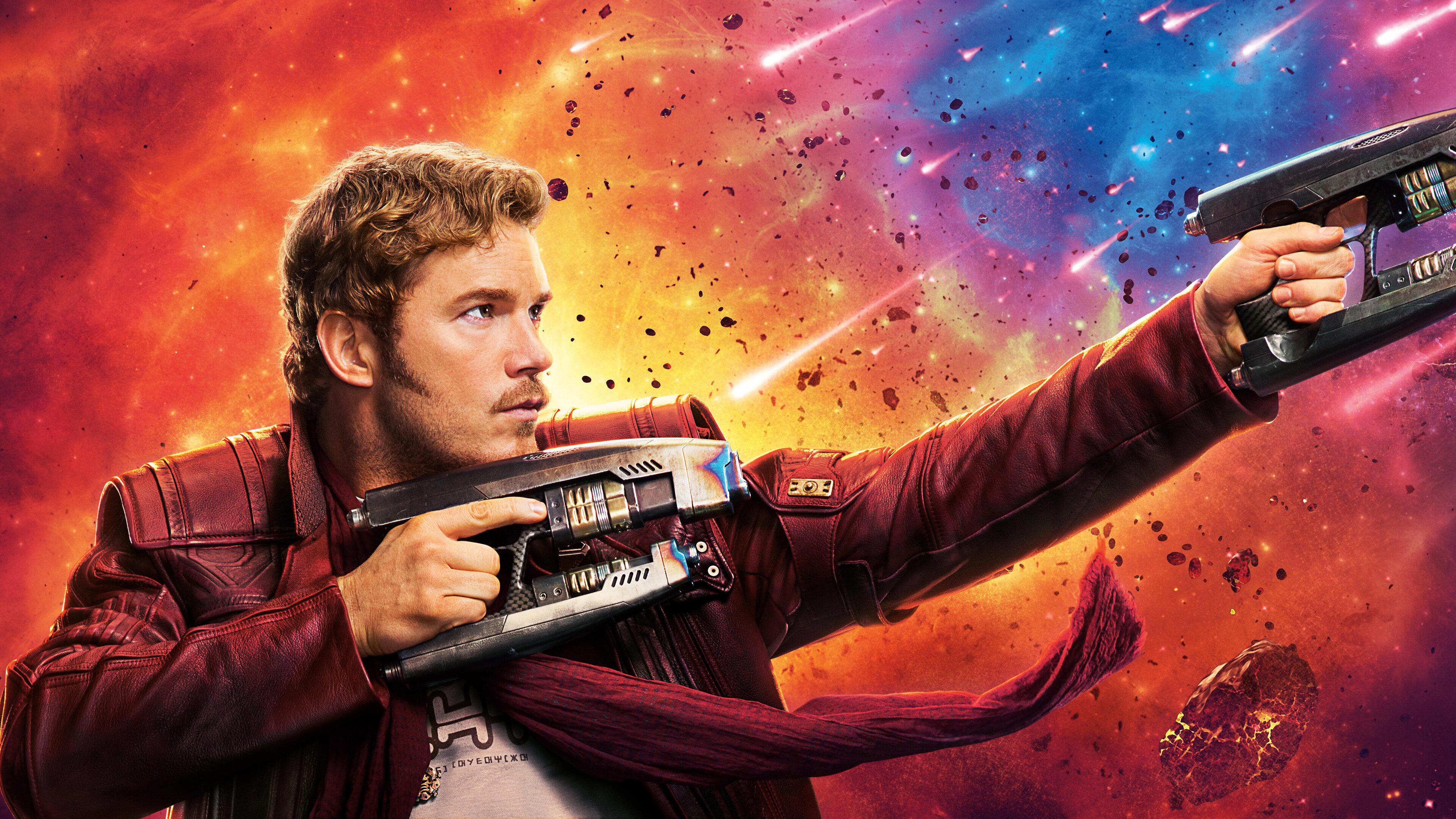 Guardians Of The Galaxy Star Lord Abstract Art 4k Hd: 3840x2160 Star Lord Guardians Of The Galaxy Vol 2 4k 8k 4k