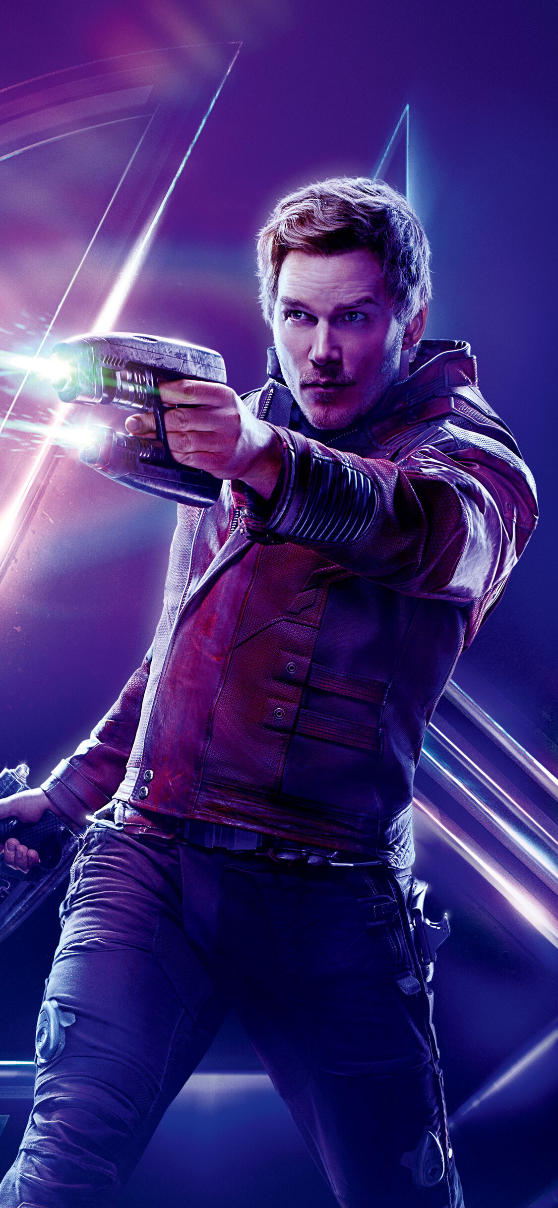 1125x2436 Star Lord In Avengers Infinity War 8k Poster Iphone Xs