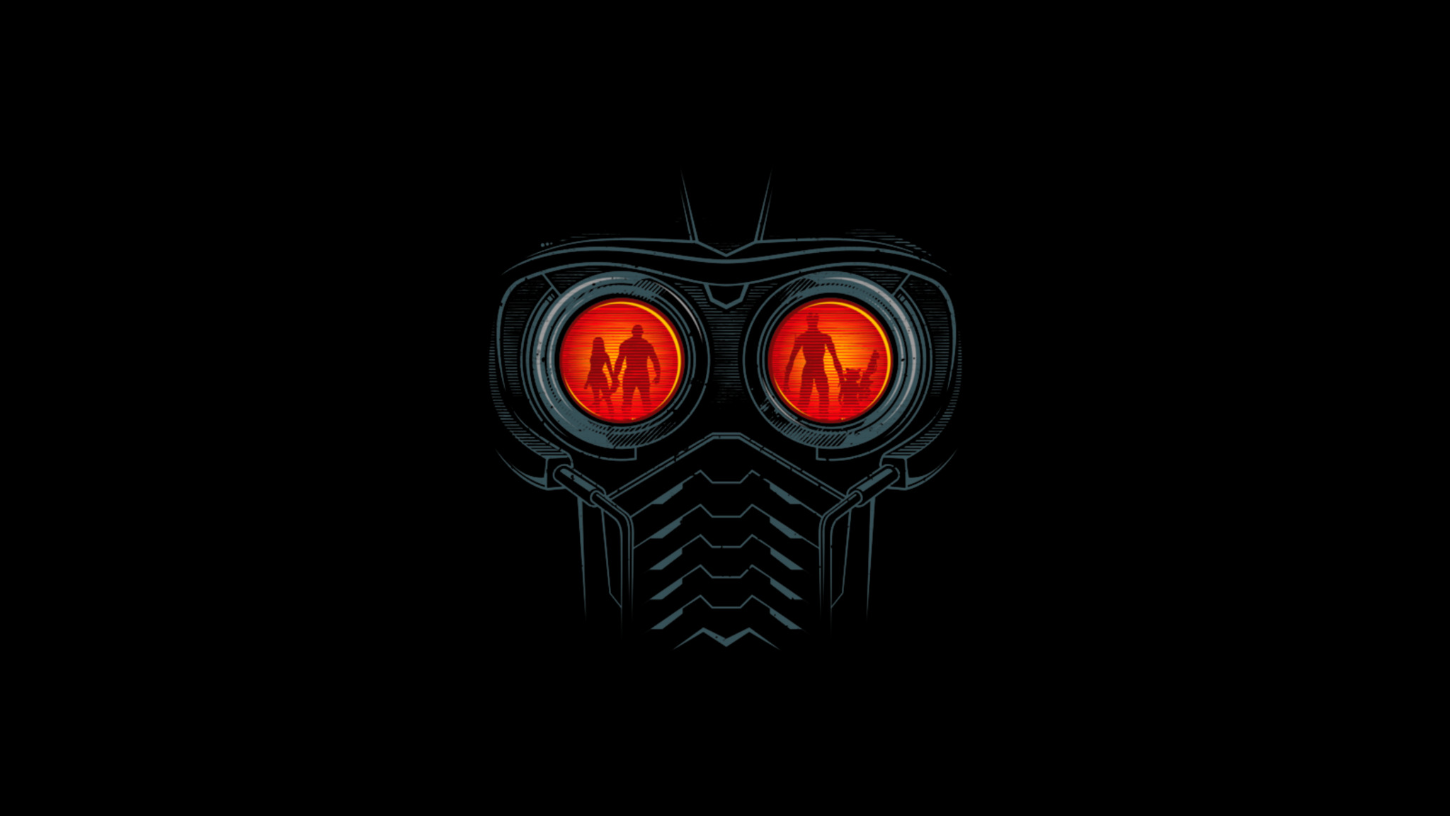 Guardians Of The Galaxy Star Lord Abstract Art 4k Hd: 2048x1152 Star Lord Mask 2048x1152 Resolution HD 4k