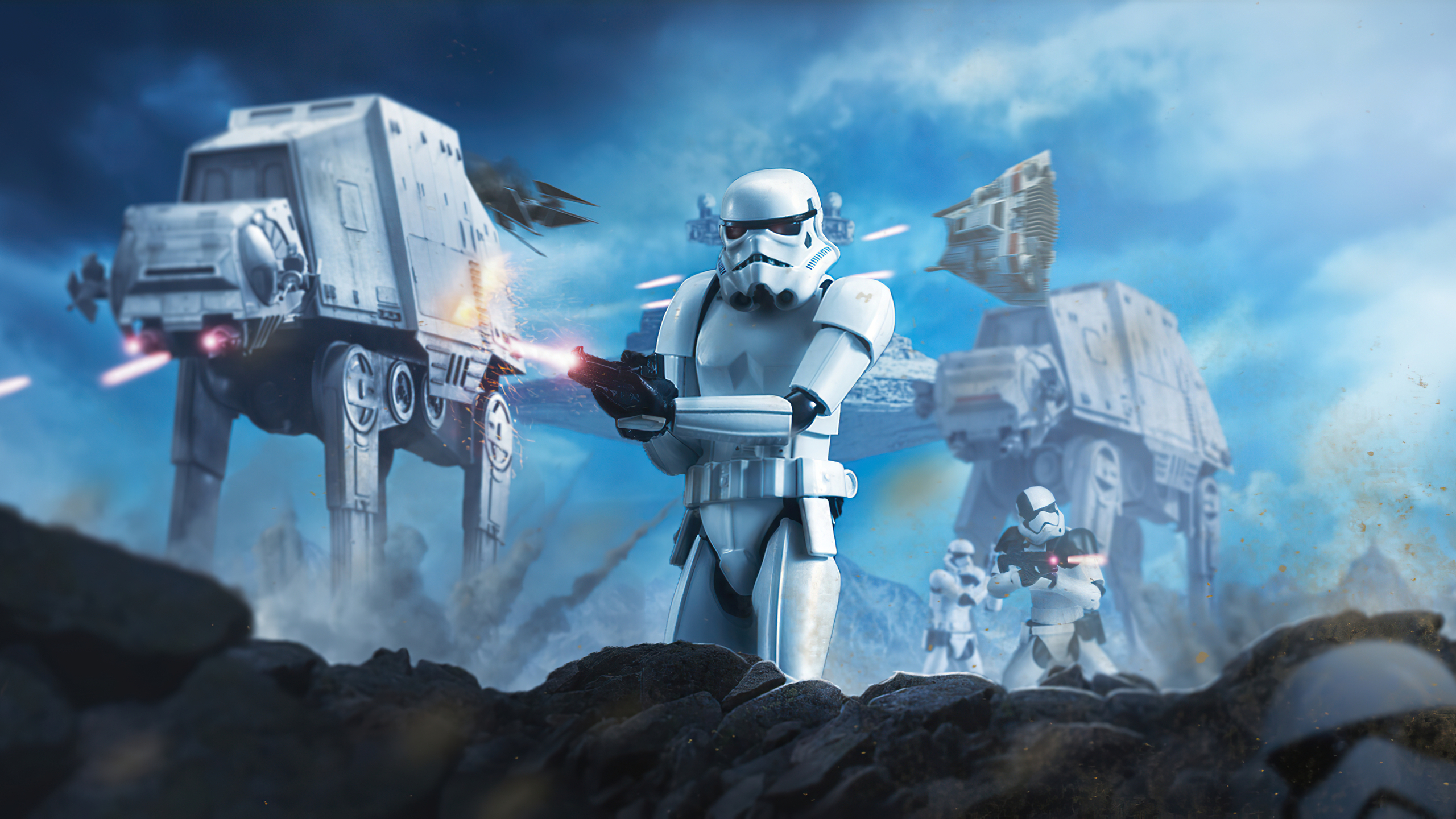 2560x1440 Star Wars Battle Of Hoth 1440p Resolution Hd 4k Wallpapers Images Backgrounds Photos And Pictures