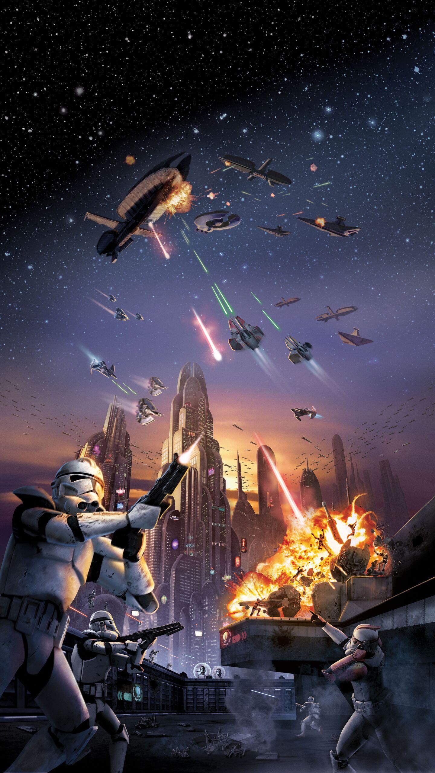 1440x2560 Star Wars Battlefront 2 4k Samsung Galaxy S6,S7 ...