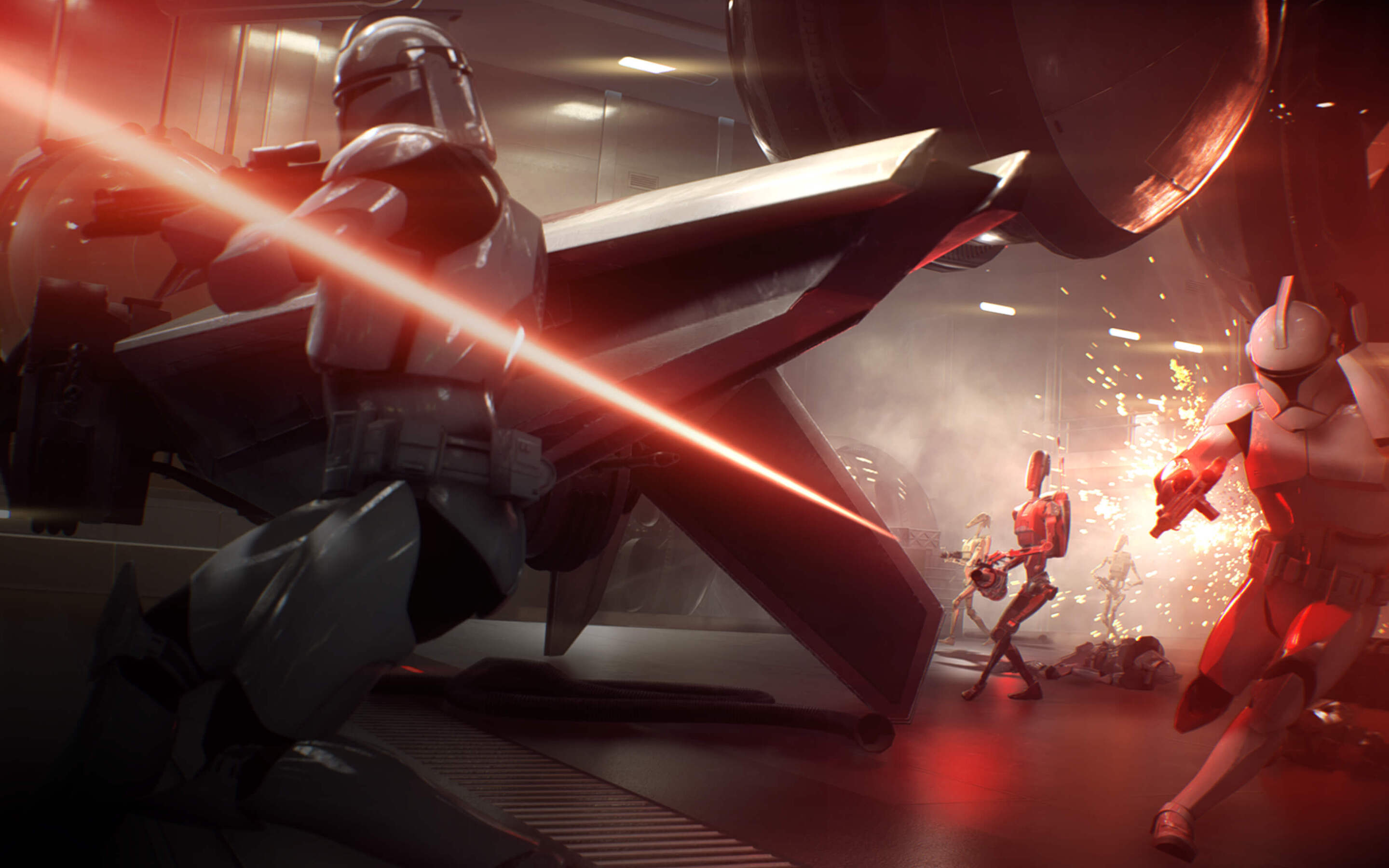 2880x1800 Star Wars Battlefront 2 Gameplay Macbook Pro Retina Hd 4k Wallpapers Images Backgrounds Photos And Pictures