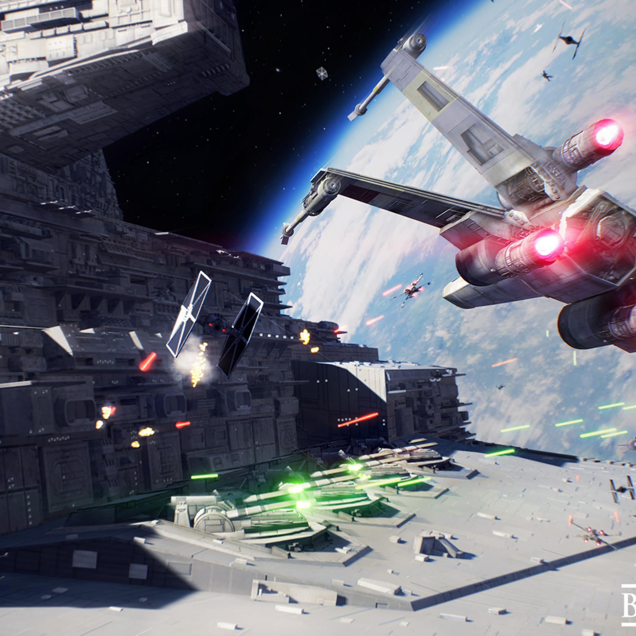 2048x2048 Star Wars Battlefront II 2017 3 Ipad Air HD 4k