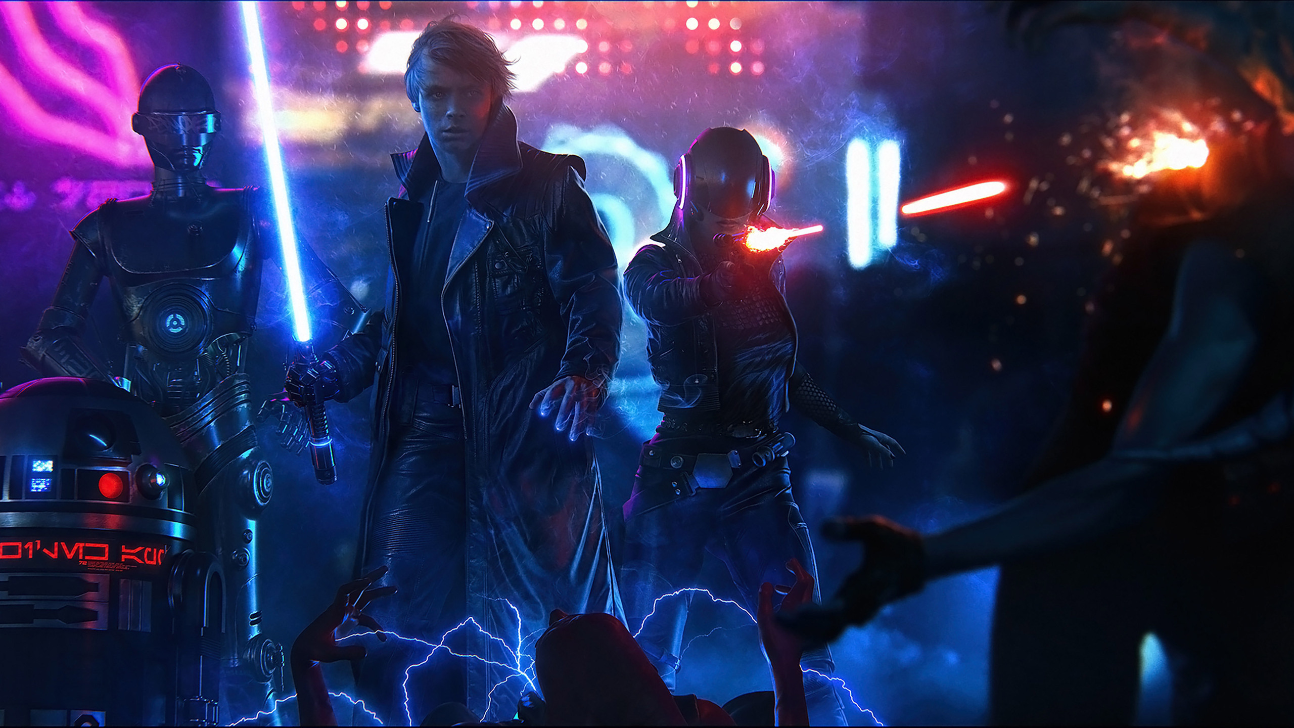2560x1440 star wars cyberpunk 1440p resolution hd 4k