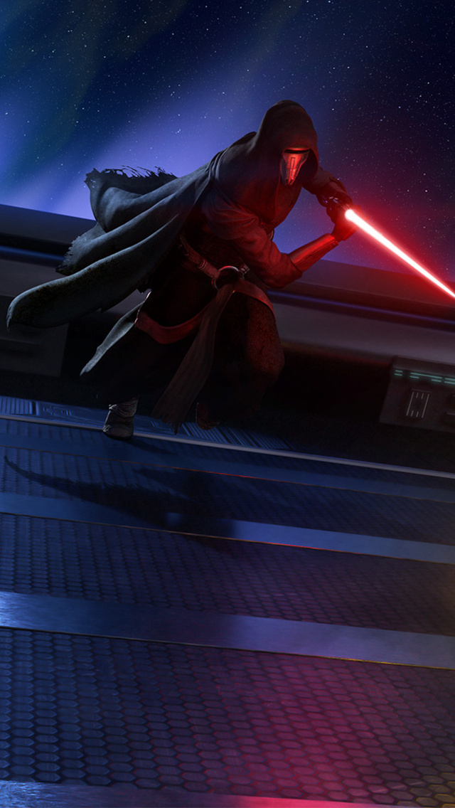 640x1136 Star Wars Darth Revan Vs Bastila Shan Iphone 55c