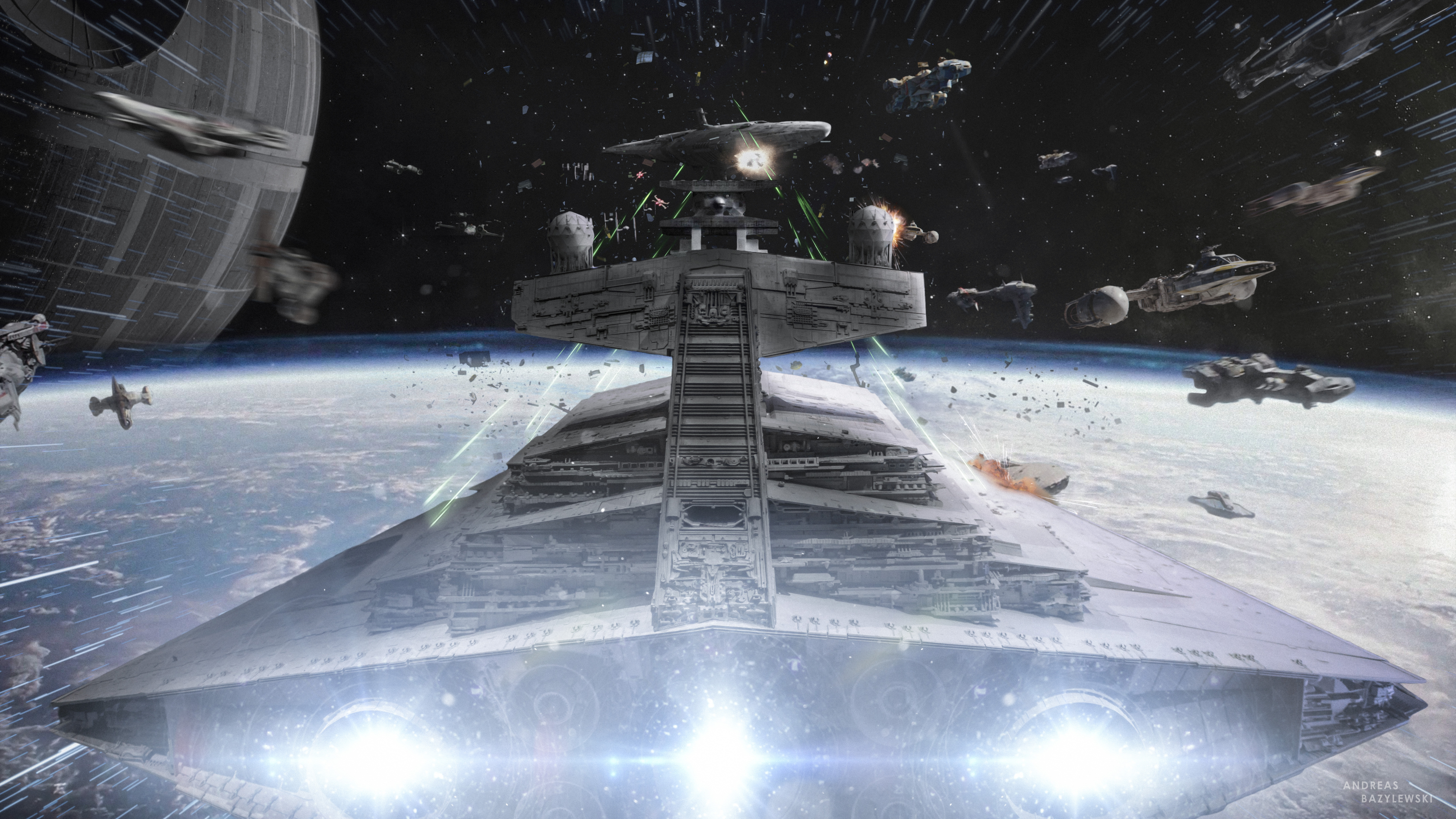 5120x2880 Star Wars Devastator Ship 5k Hd 4k Wallpapers Images Backgrounds Photos And Pictures
