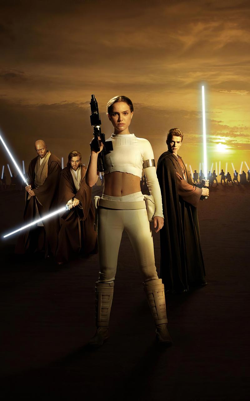 800x1280 Star Wars Episode Ii Attack Of The Clones Natalie Portman