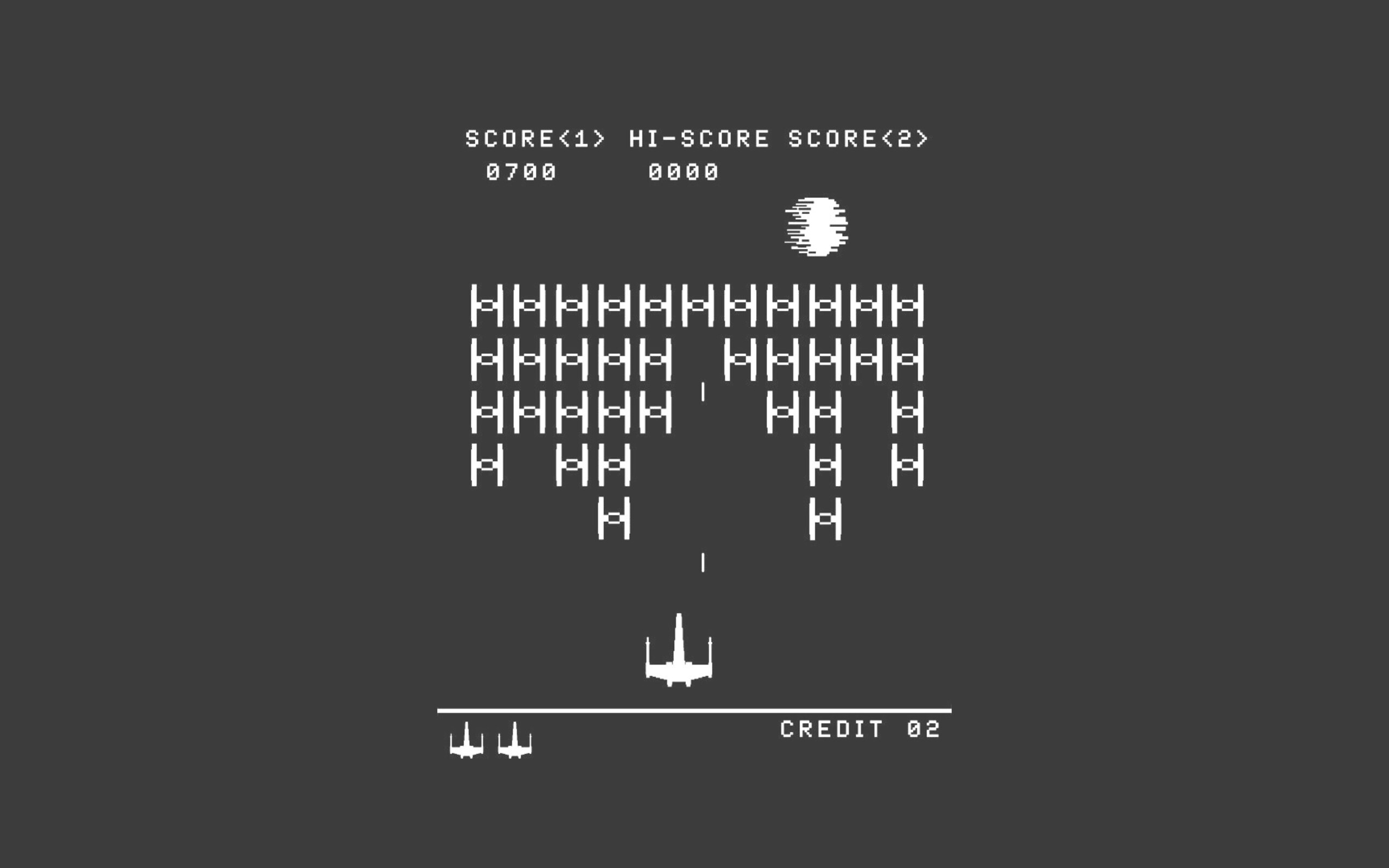 star wars game minimalism wallpaper
