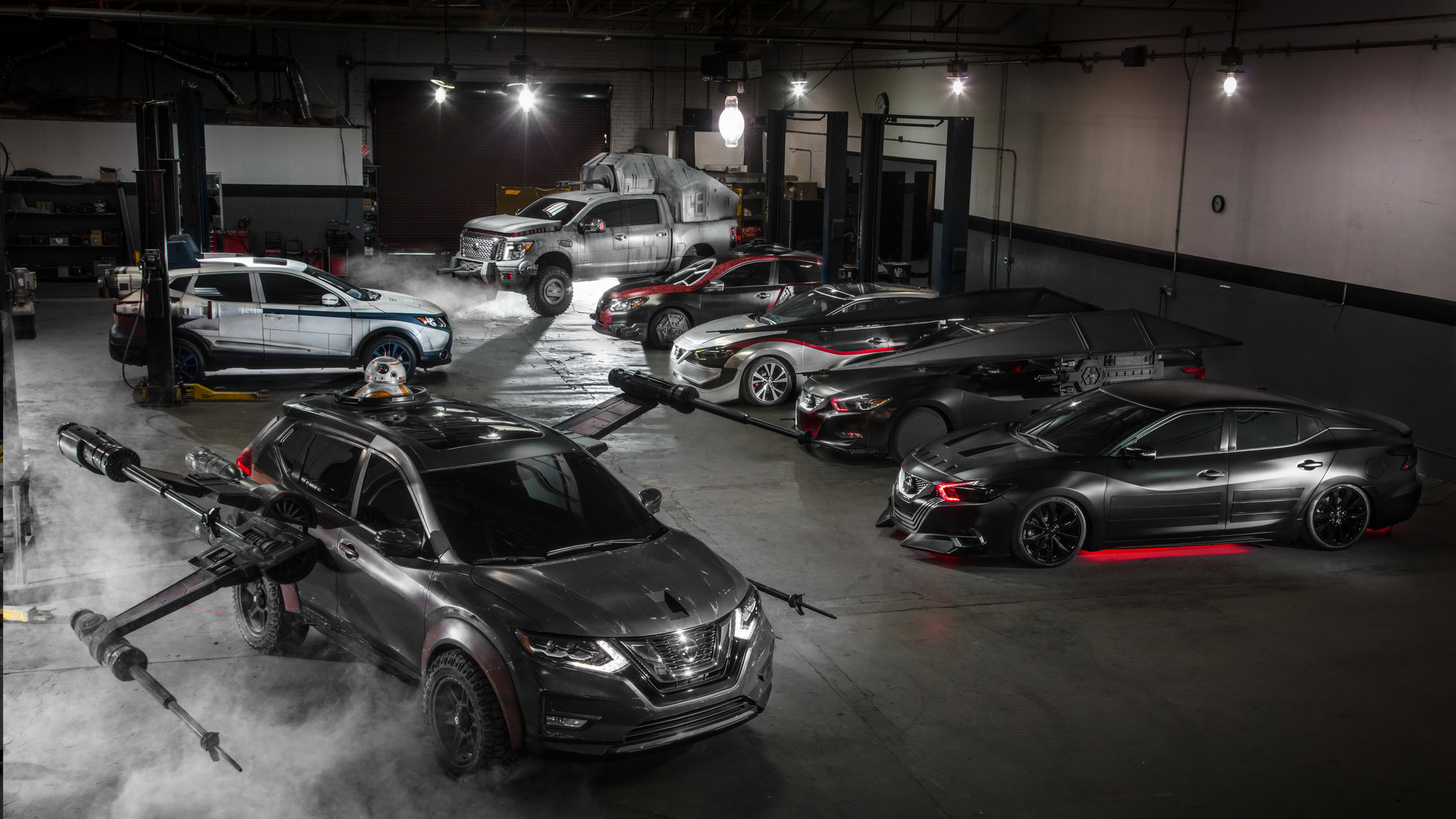 2048x1152 Star Wars Nissan Cars 2048x1152 Resolution Hd 4k