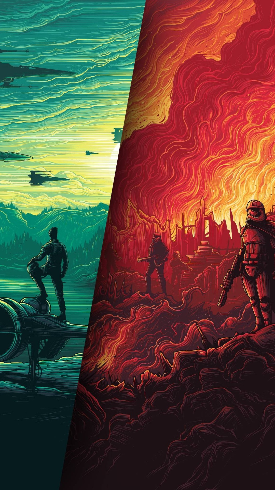 1080x1920 Star Wars Poster 4k Iphone 7,6s,6 Plus, Pixel xl