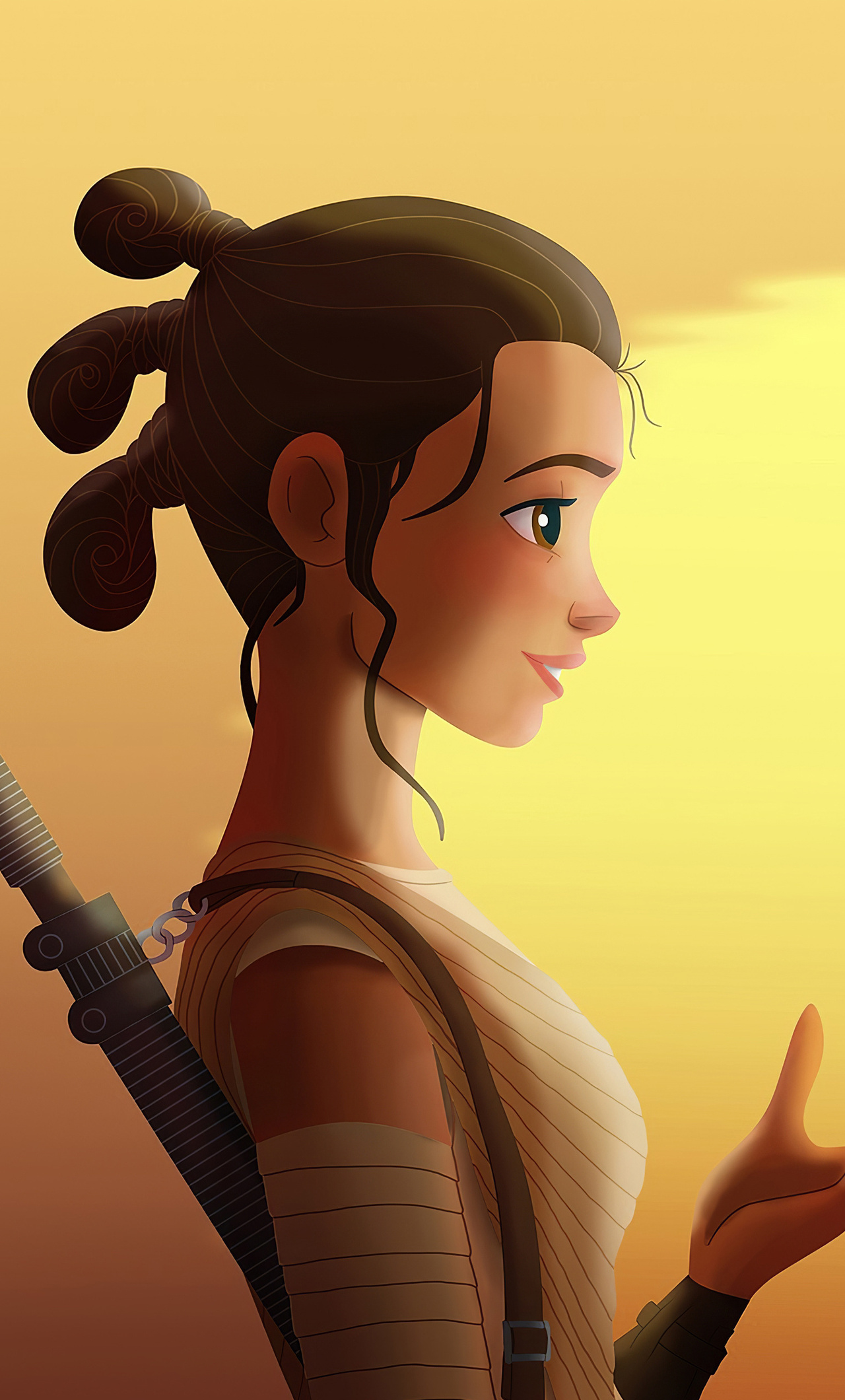 1280x2120 Star Wars Rey And Bb8 4k Iphone 6 Hd 4k Wallpapers Images Backgrounds Photos And Pictures
