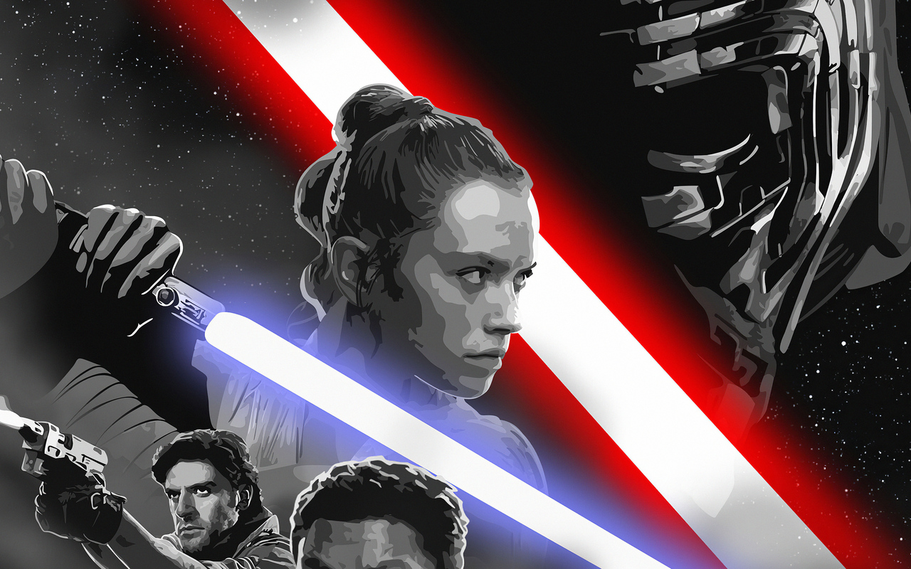 1280x800 Star Wars Rise Of Skywalker Art 720p Hd 4k Wallpapers Images Backgrounds Photos And Pictures