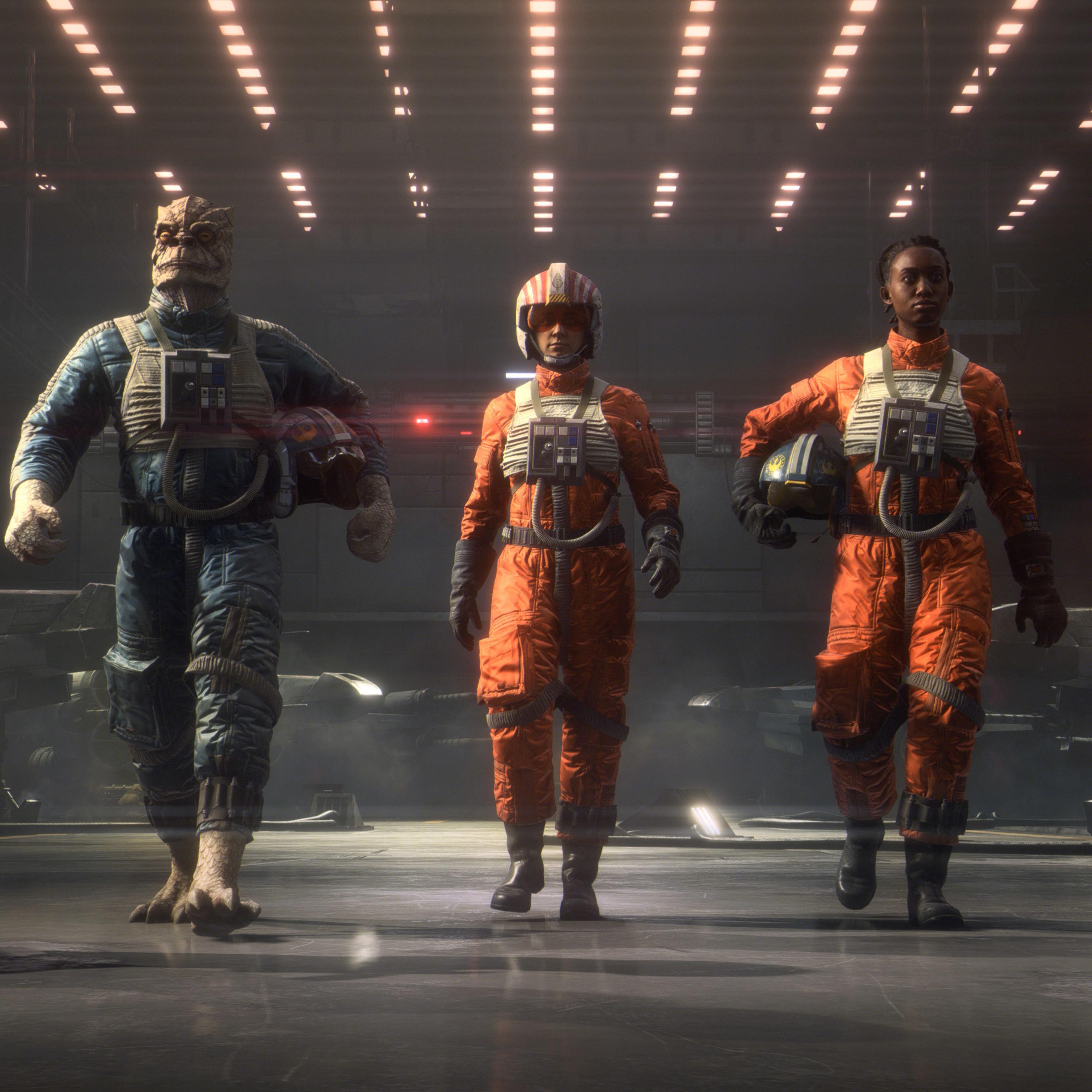 2932x2932 Star Wars Squadrons 2021 Game Ipad Pro Retina ...