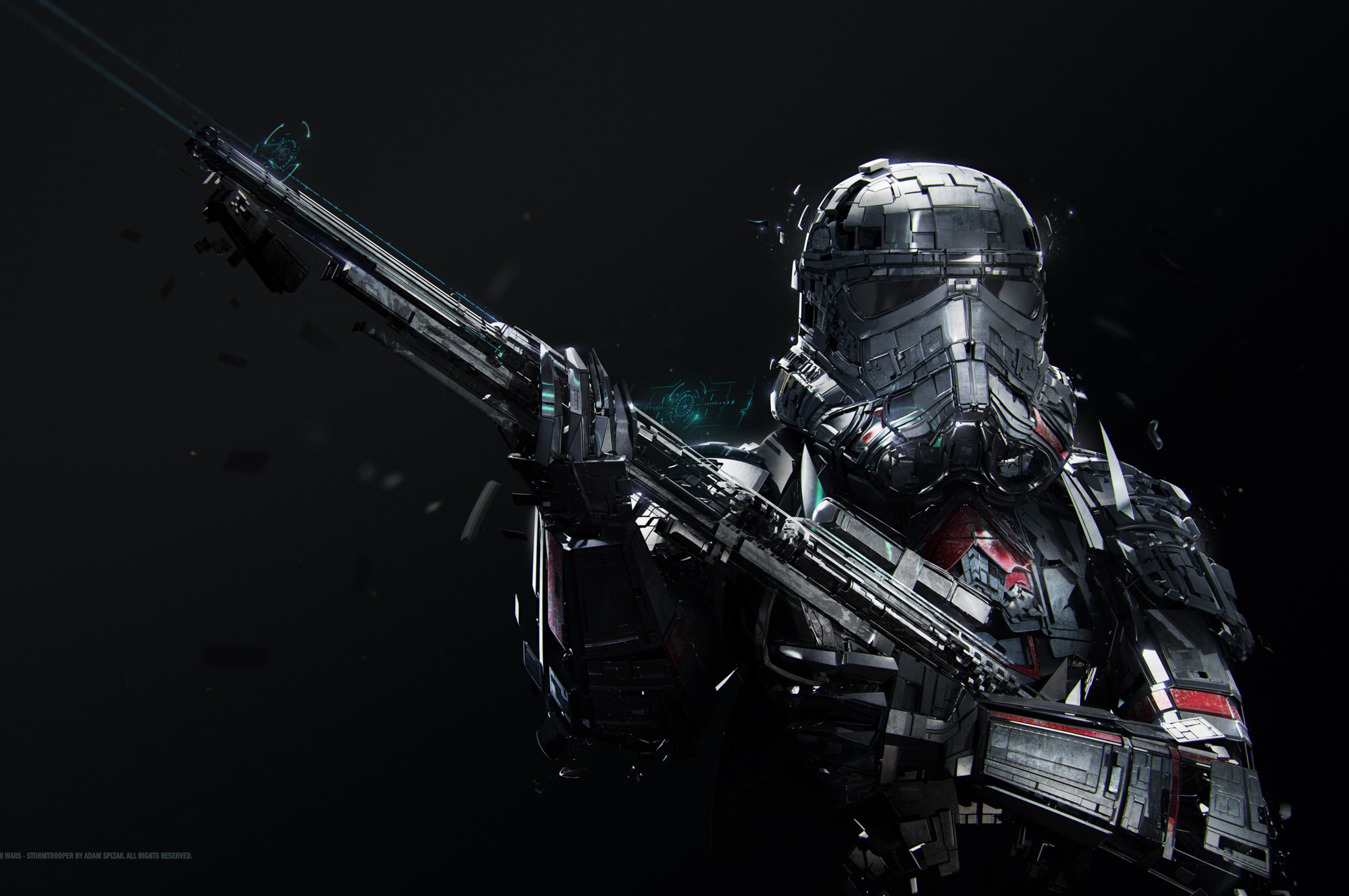 star wars stormtrooper 4k
