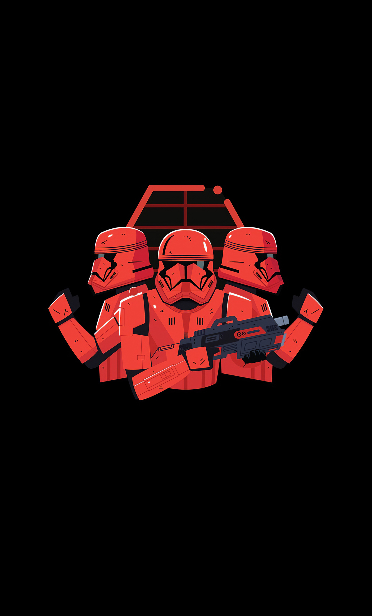 1280x2120 Star Wars Stormtrooper Minimal Art Iphone 6 Hd 4k