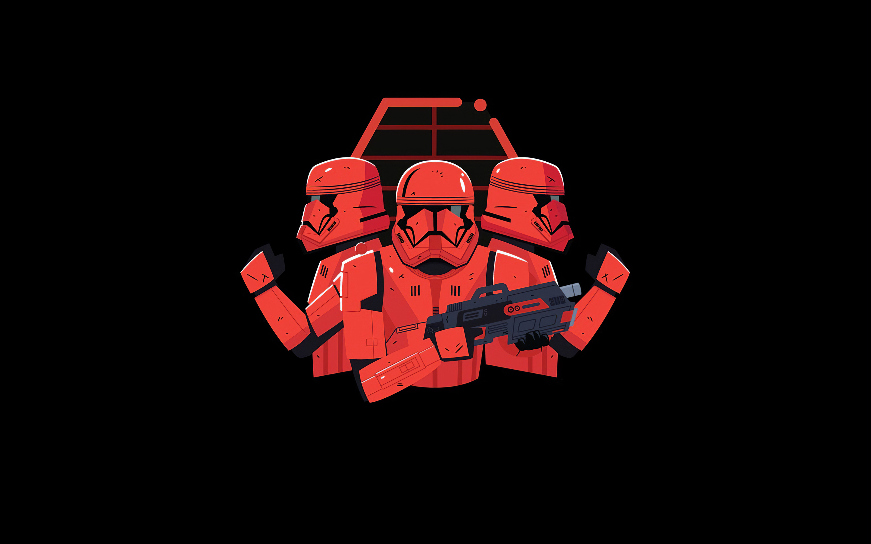 star wars stormtrooper minimal art z4