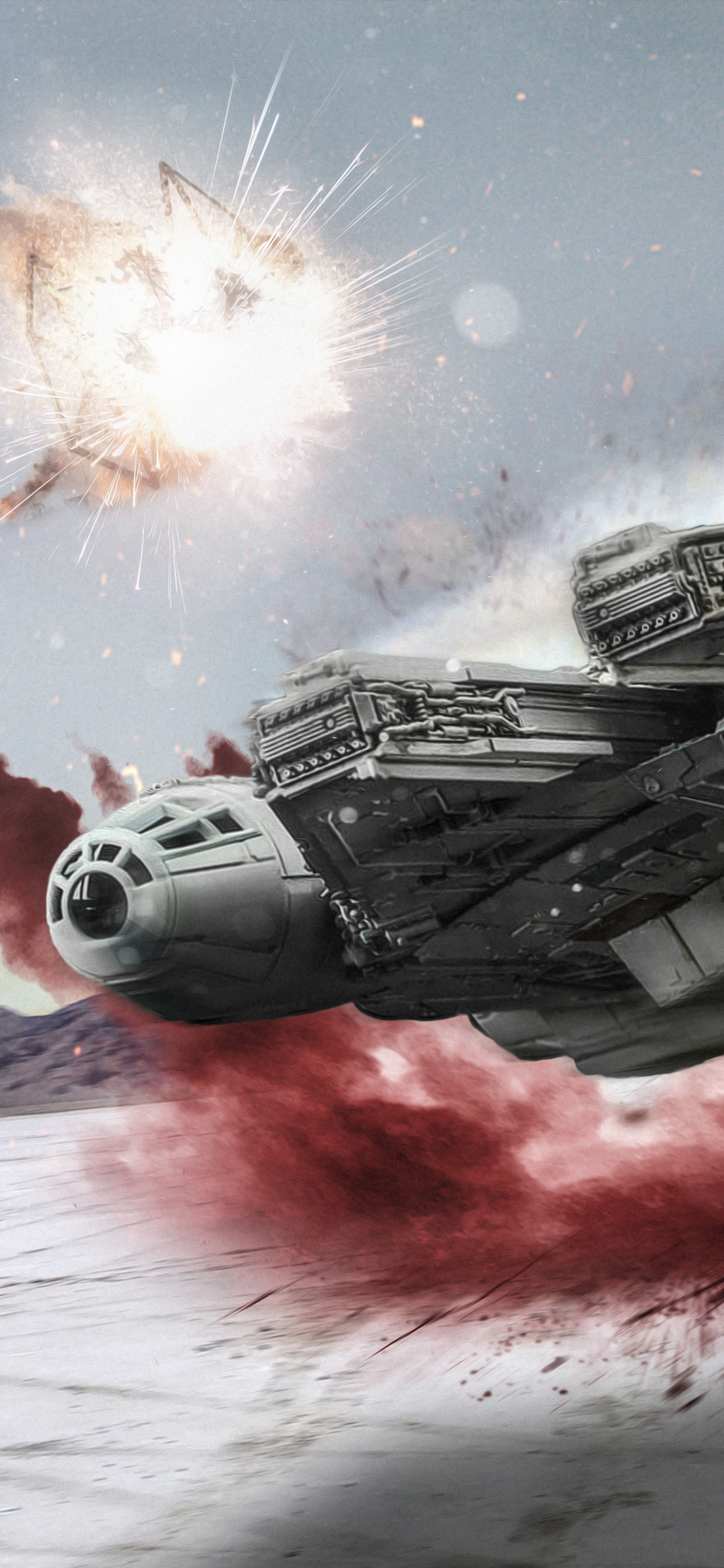 star wars the last jedi millennium falcon d4