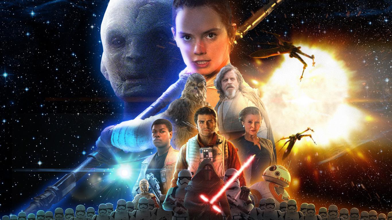 1366x768 Star Wars The Last Jedi Movie 1366x768 Resolution Hd 4k