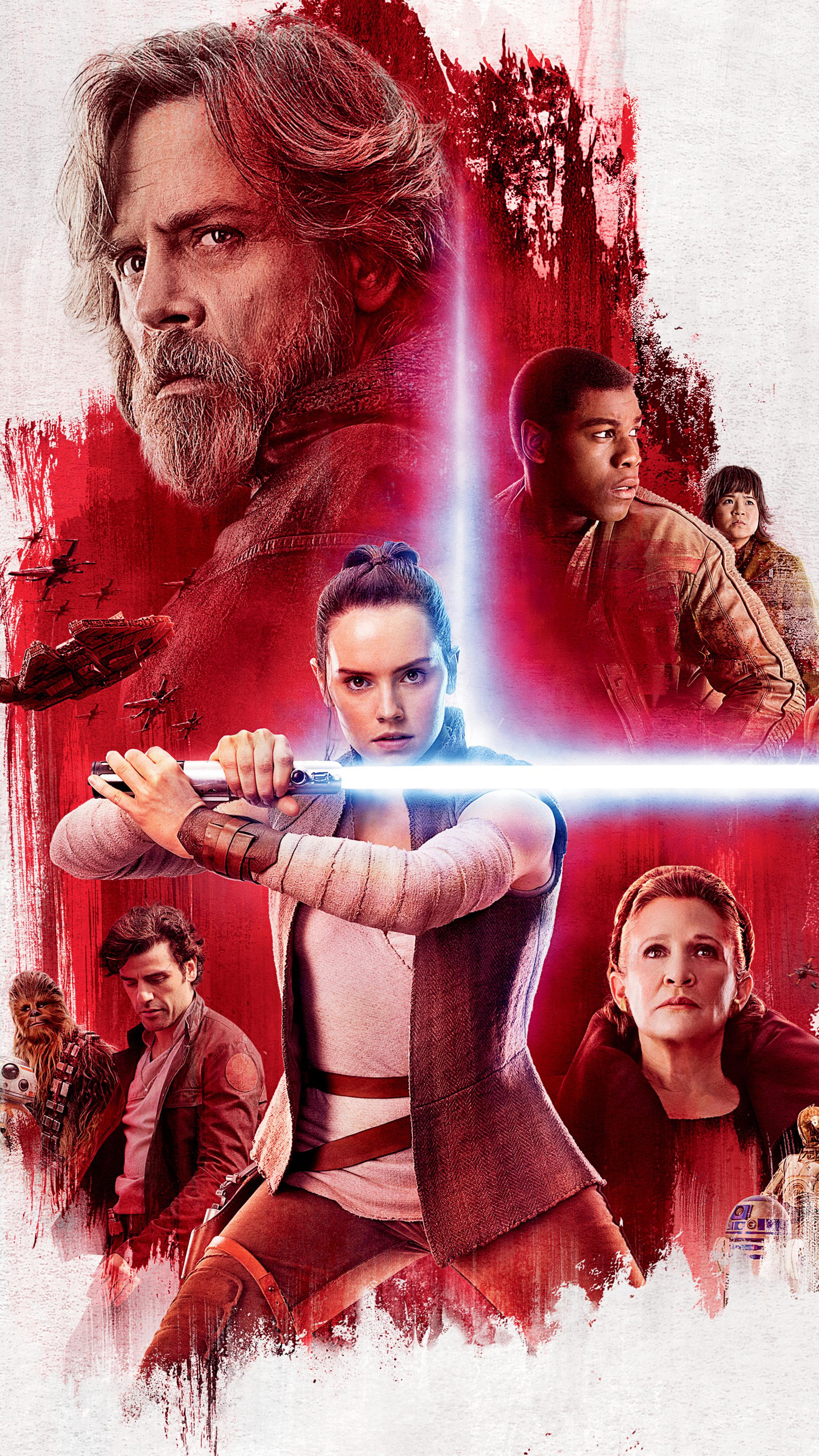 2160x3840 Star Wars The Last Jedi Poster Sony Xperia X Xz Z5