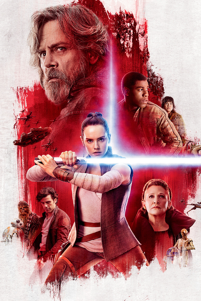 640x960 Star Wars The Last Jedi Poster Iphone 4 Iphone 4s Hd 4k Wallpapers Images Backgrounds Photos And Pictures