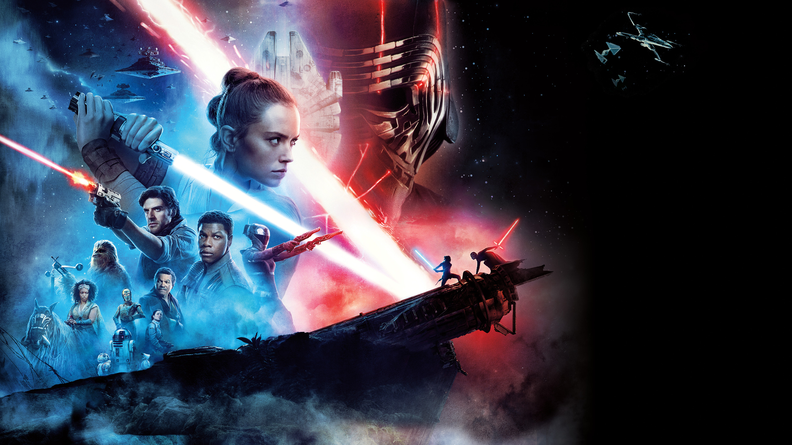 2560x1440 Star Wars The Rise Of Skywalker 12k 1440p Resolution Hd 4k Wallpapers Images Backgrounds Photos And Pictures