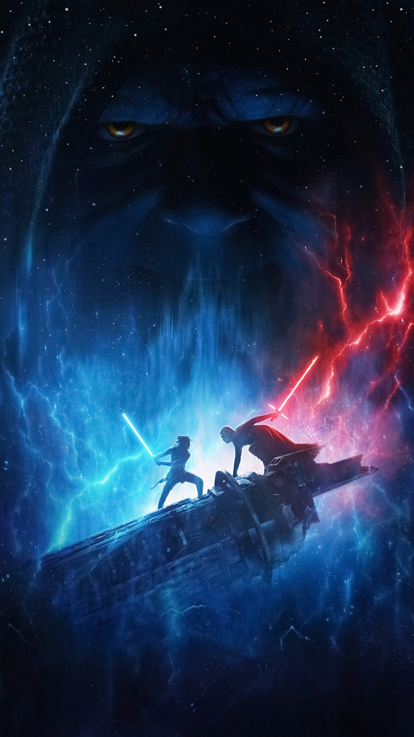 1440x2560 Star Wars The Rise Of Skywalker 2019 4k Samsung