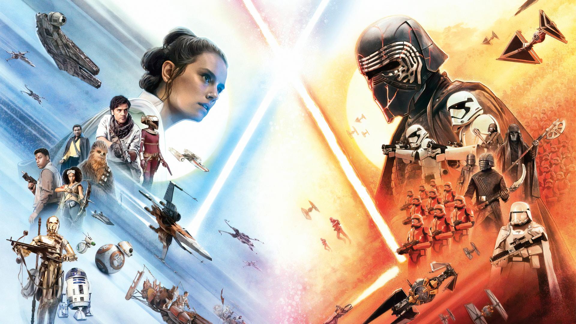 1920x1080 Star Wars The Rise Of Skywalker 4k 2019 Laptop ...