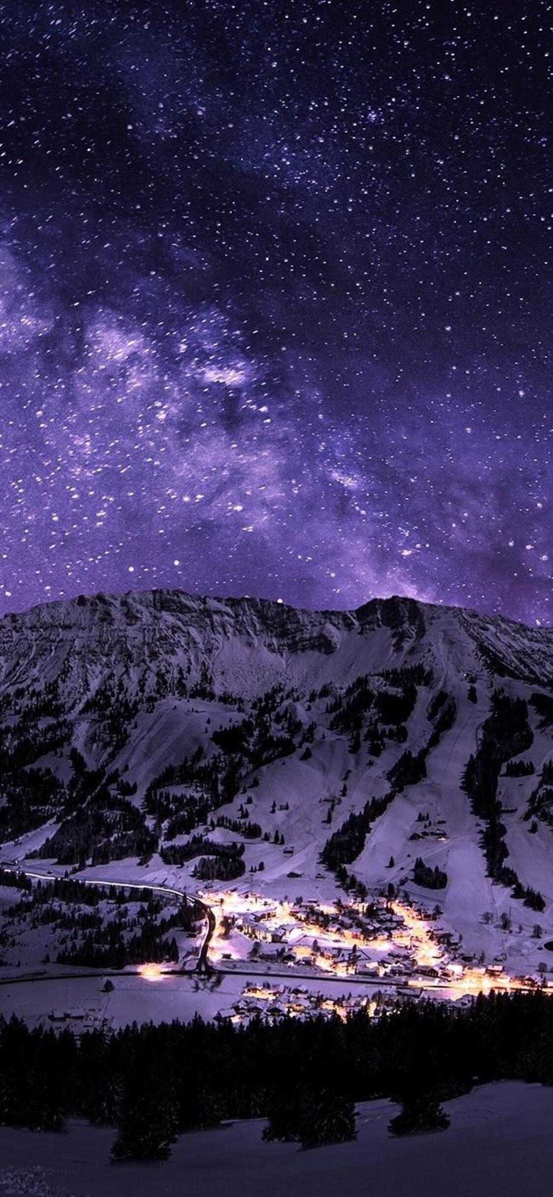 Stars Night Galaxy 4k Jpg