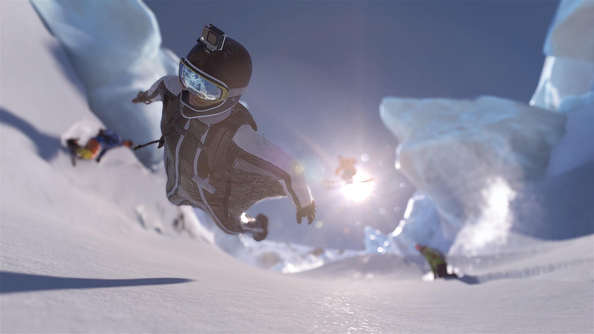 Skiing Backflip Steep Extreme Sport llpaper