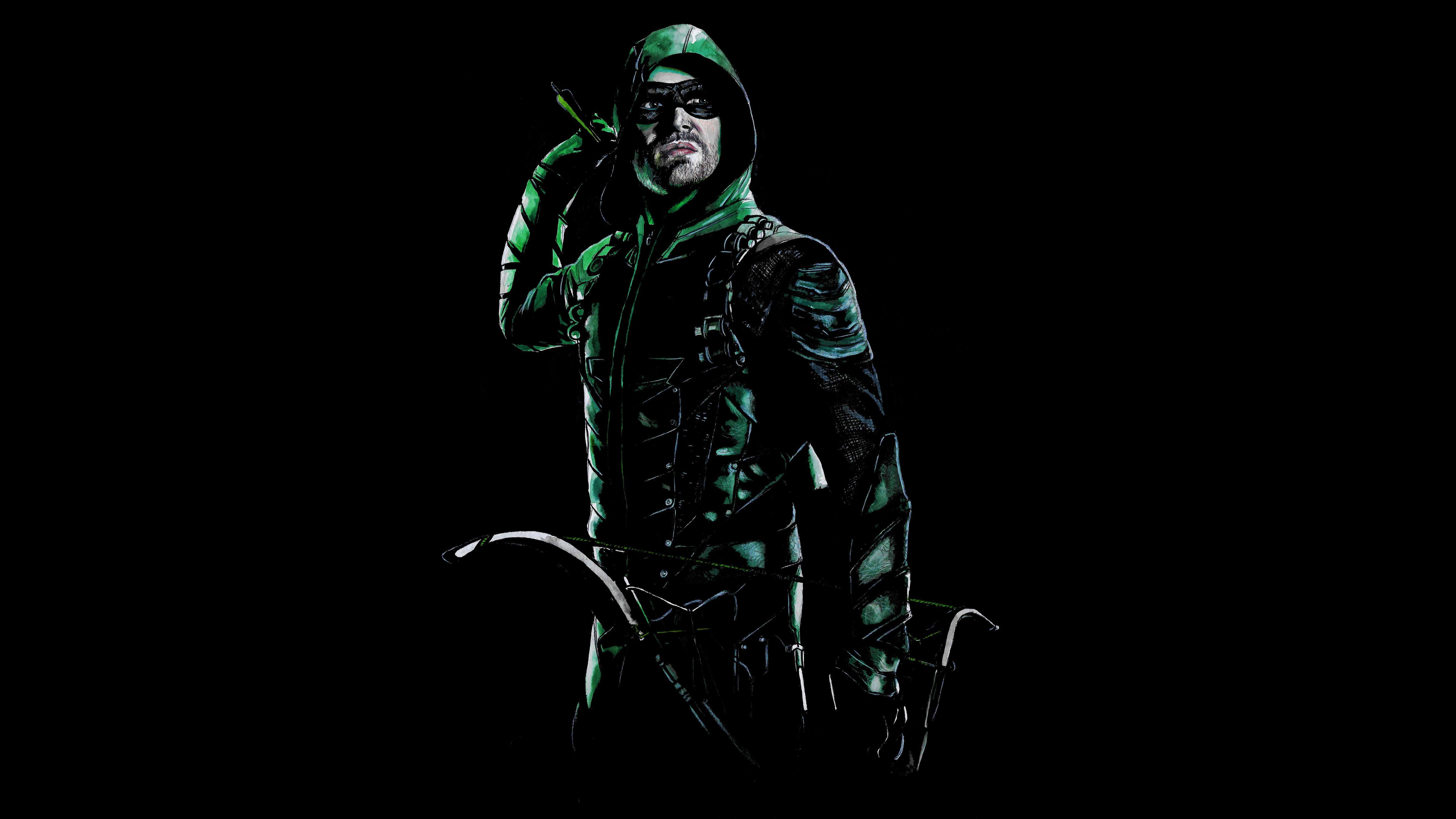 5120x2880 Stephen Amell As Green Arrow 5k 5k Hd 4k
