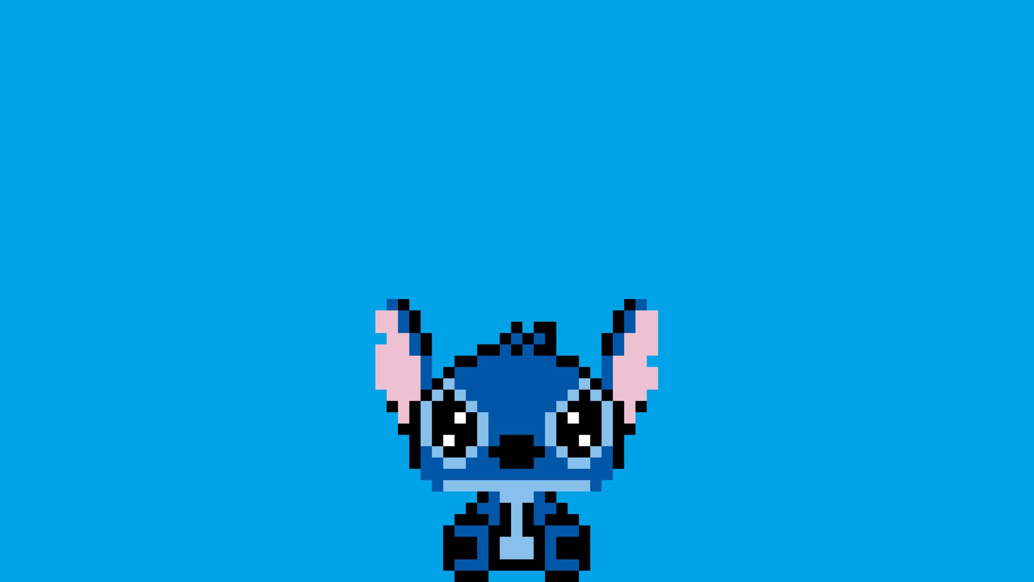2048x1152 Stitch Pixel Art 2048x1152 Resolution Hd 4k