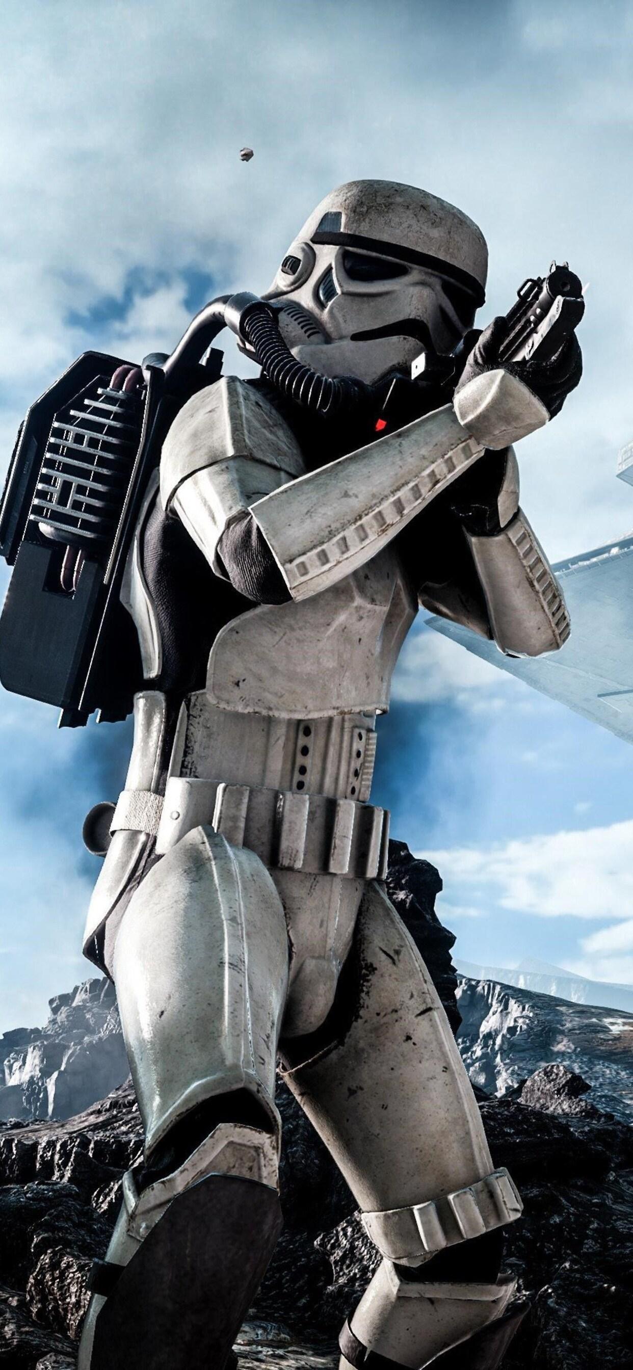 1242x2688 Stormtrooper In Star Wars Iphone Xs Max Hd 4k