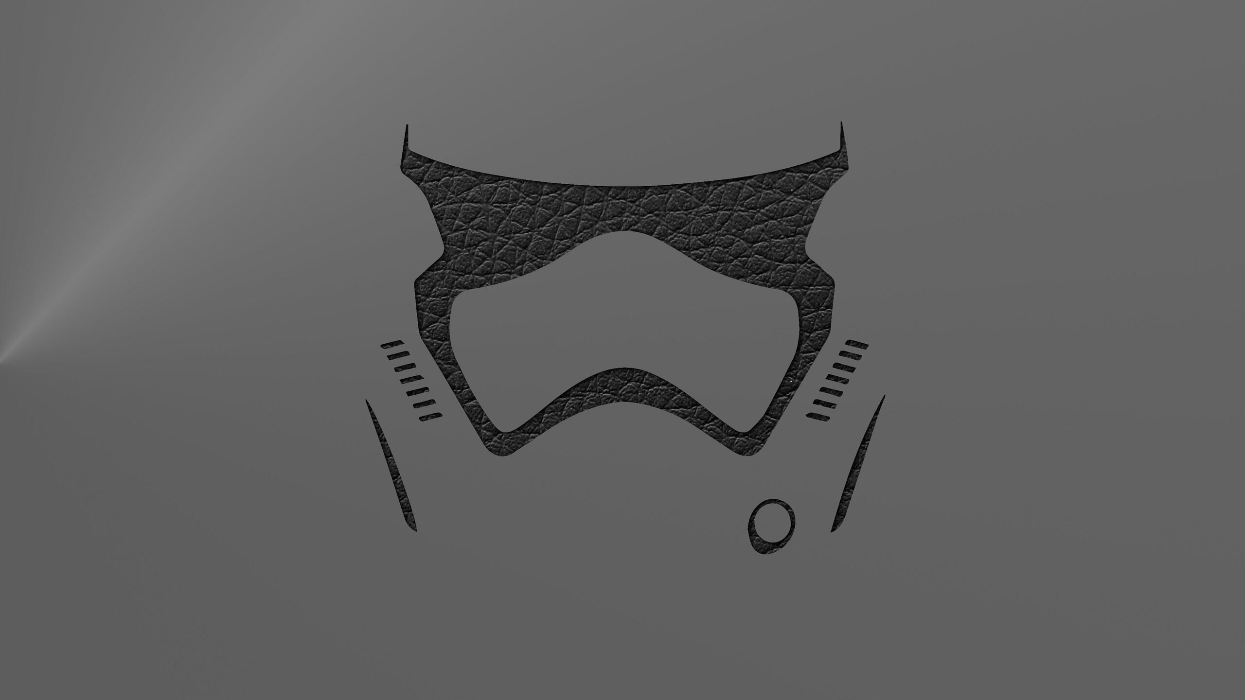 2560x1440 Stormtrooper Leather Minimalism 1440P Resolution ...