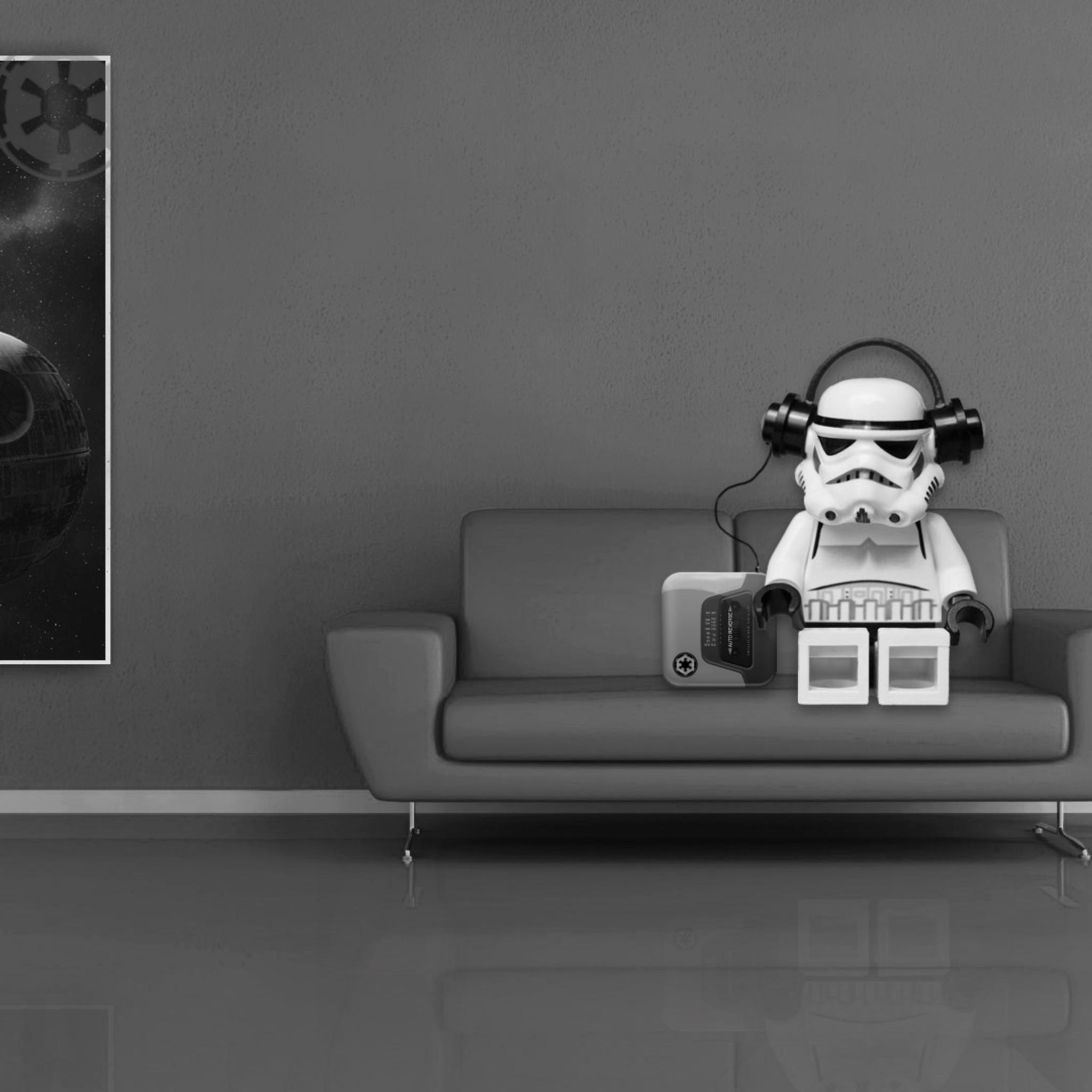 2048x2048 Stormtrooper Lego Star Wars Ipad Air HD 4k