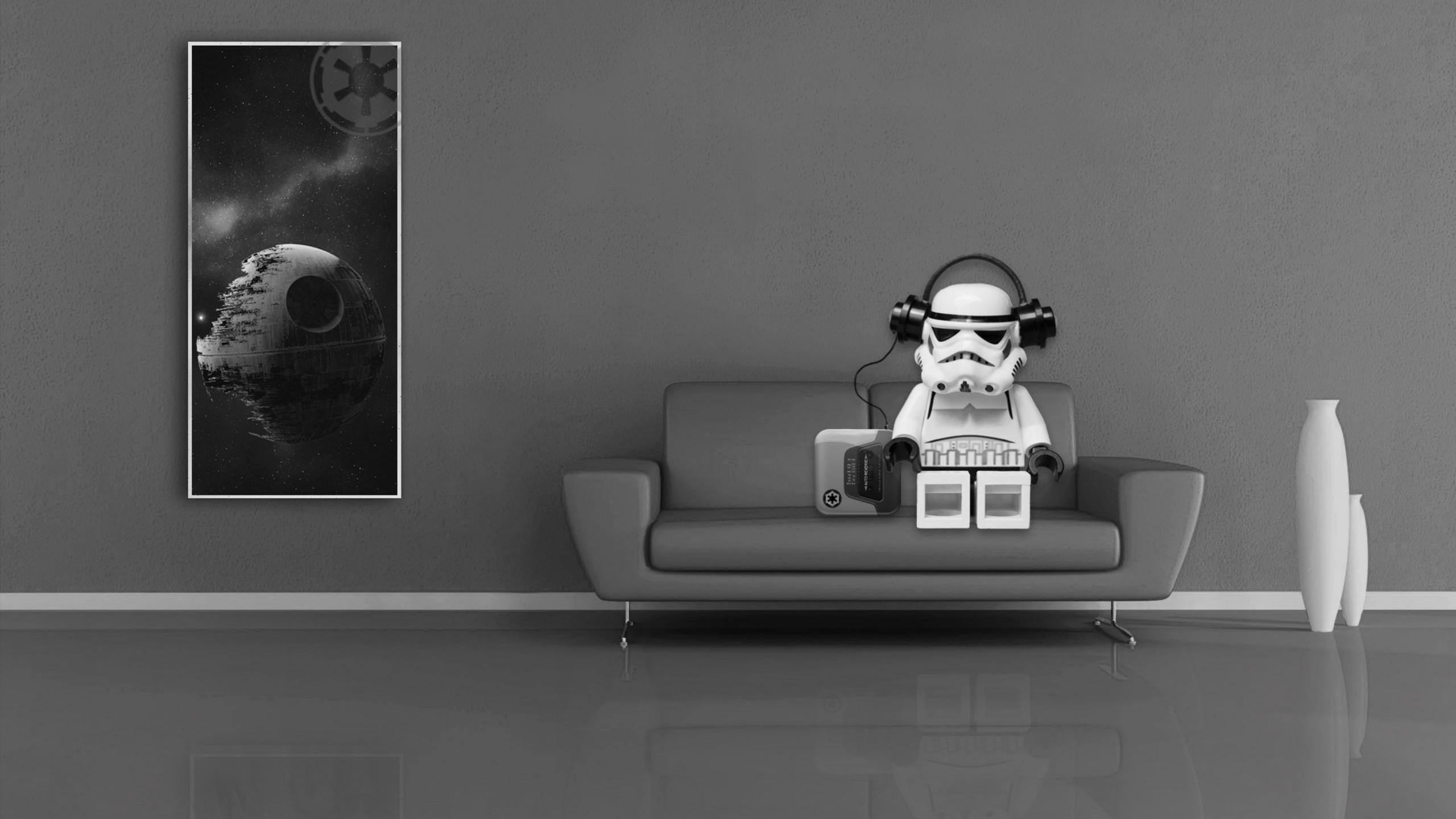 2560x1440 Stormtrooper Lego Star Wars 1440P Resolution HD ...