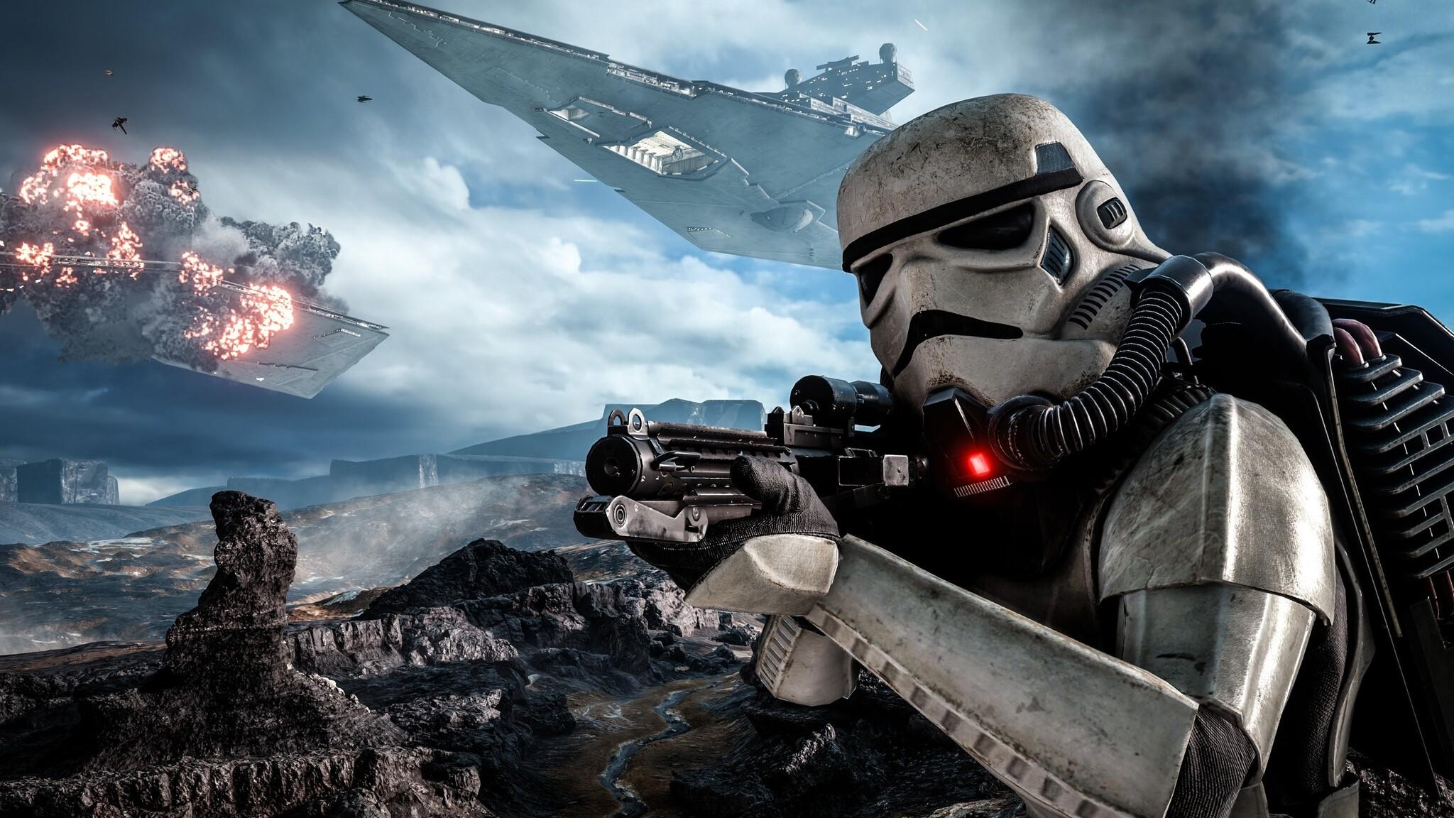 2048x1152 stormtroopers star wars battlefront 2048x1152