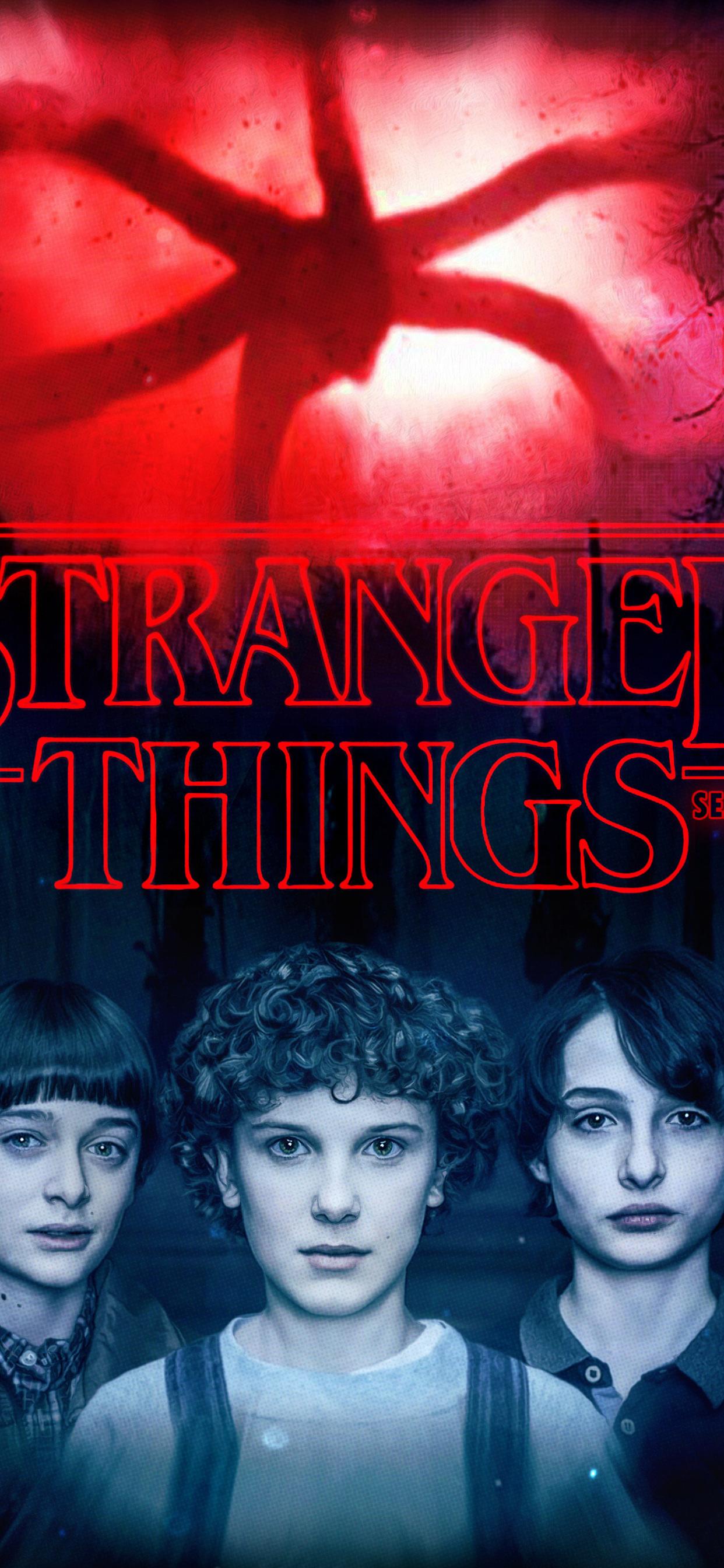 1242x2688 Stranger Things Season 2 2017 Poster Iphone Xs Max Hd 4k