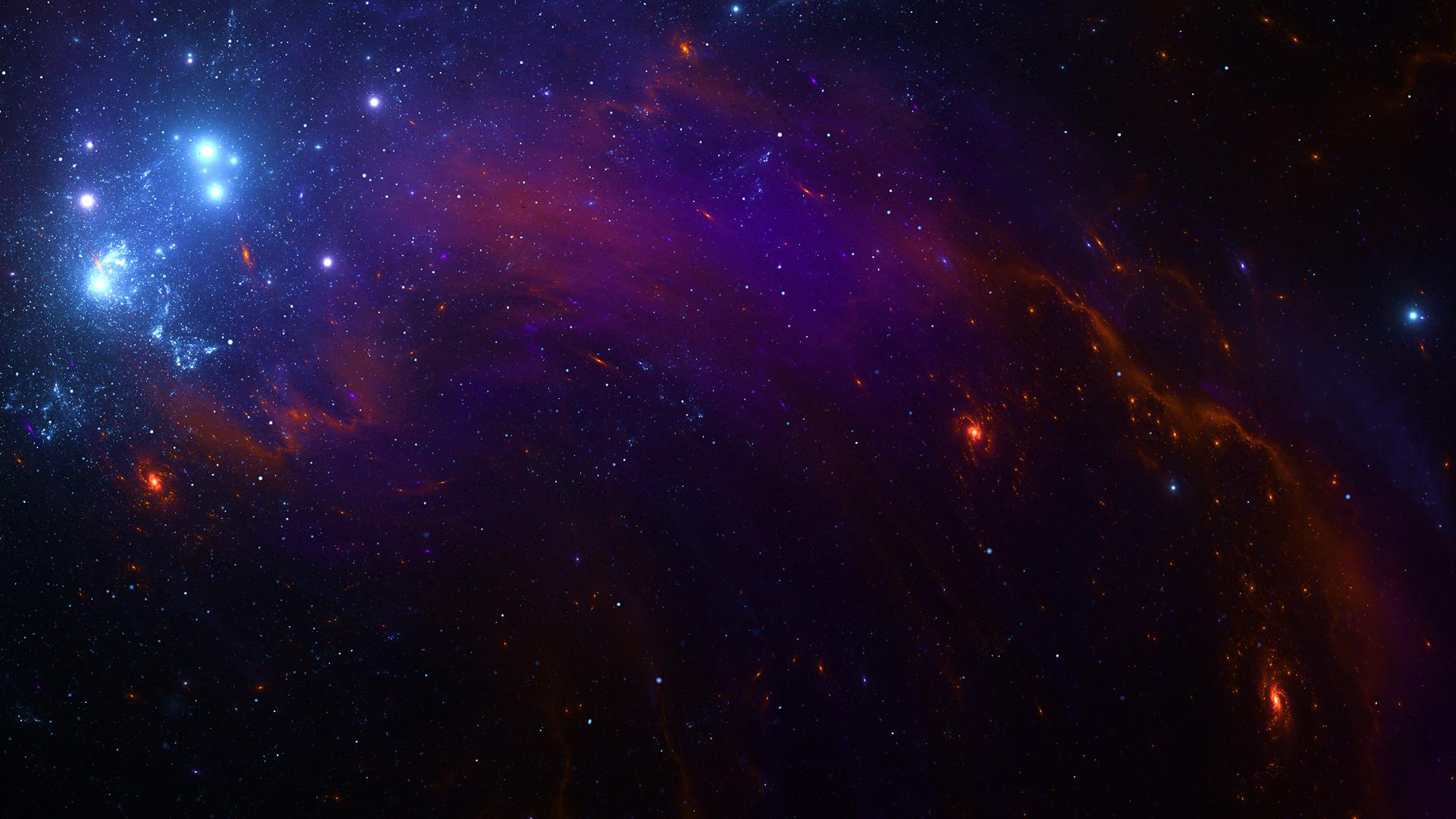 string of galaxies 4k te