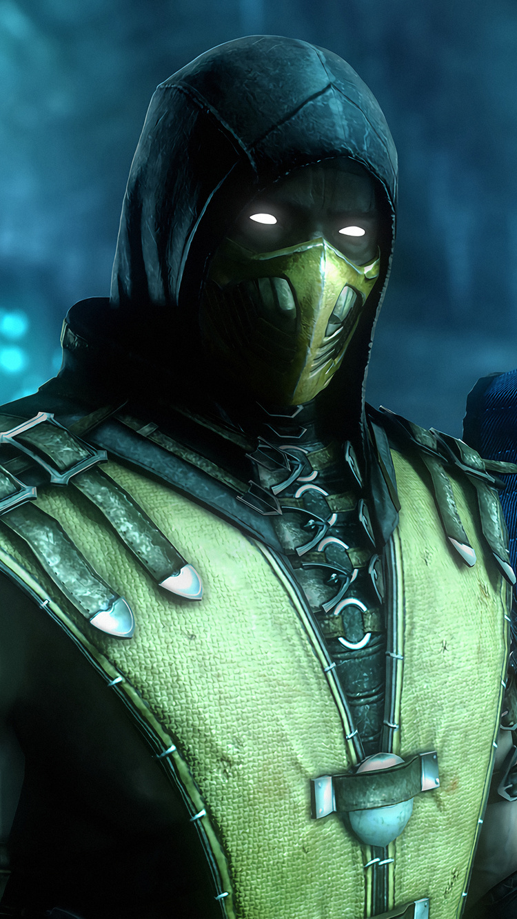 750x1334 Sub Zero And Scorpion Mortal Kombat 4k Iphone 6 Iphone
